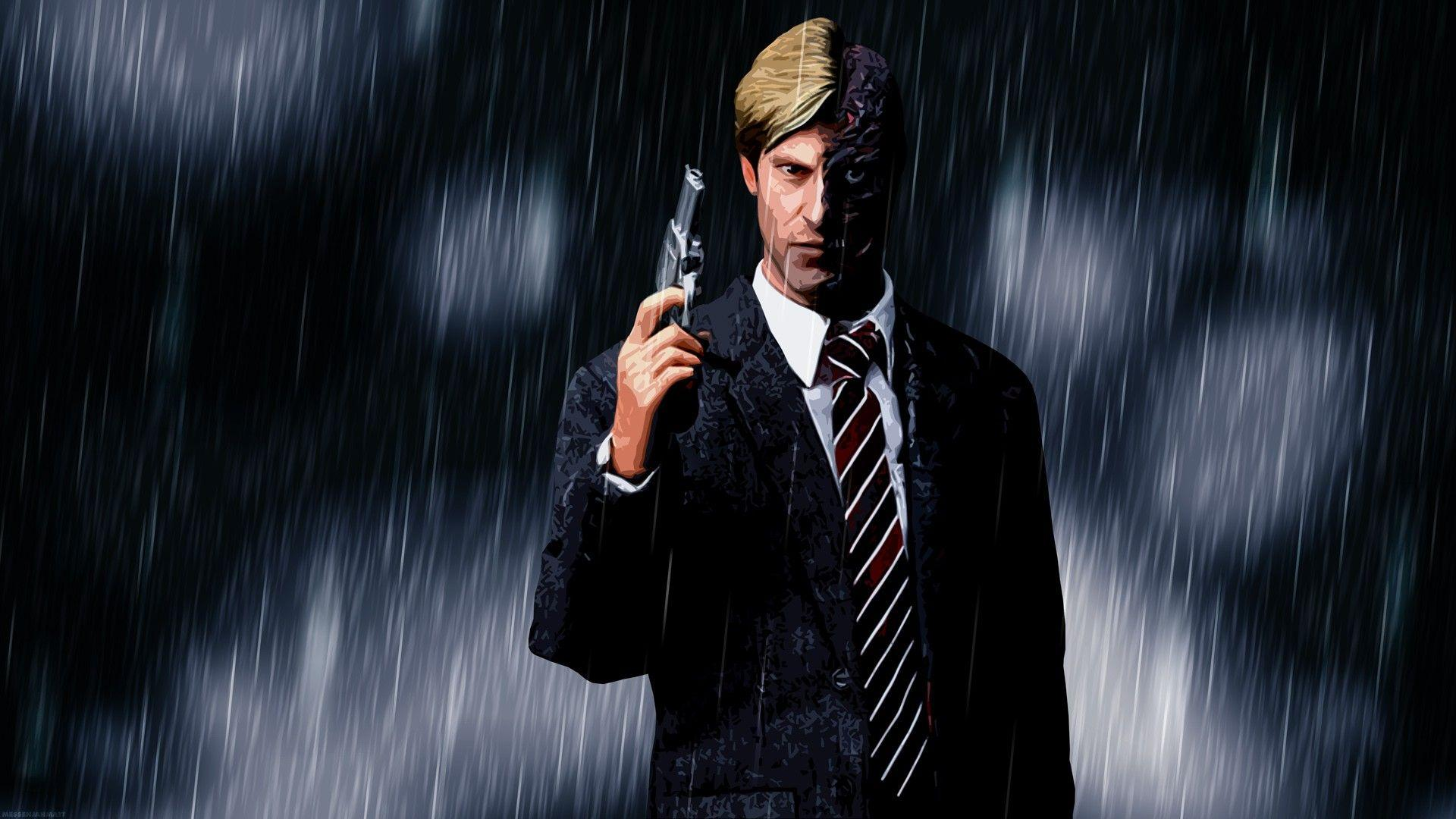 ScreenHeaven: DC Comics Harvey Dent The Dark Knight Two