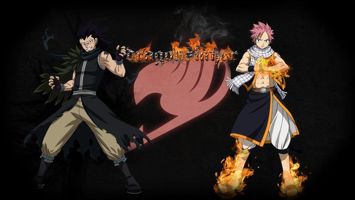 Fairy Tail Natsu and Gajeel Wallpapers by Bixes