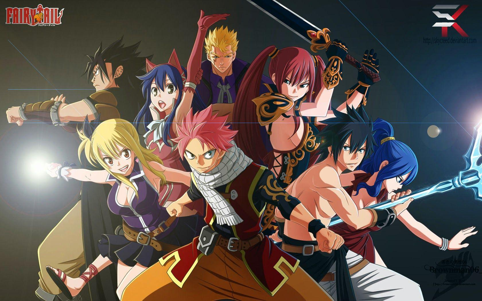 Fairy Tail Characters Wallpapers