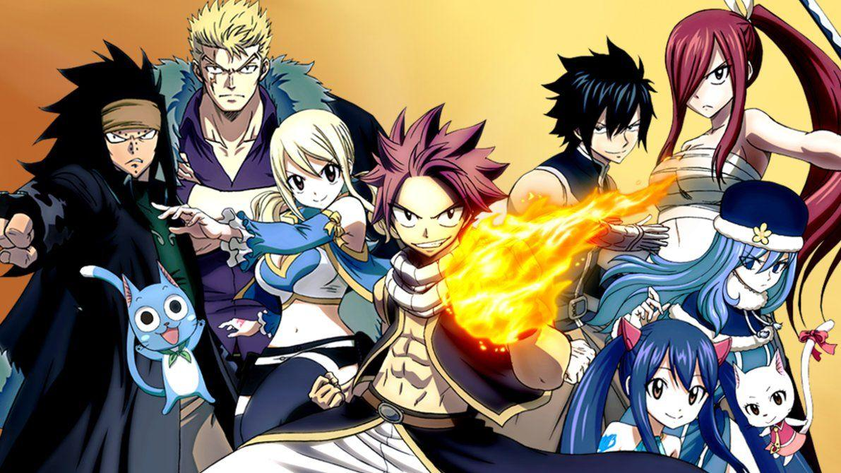 Fairy Tail Wallpapers by zsuetam2000