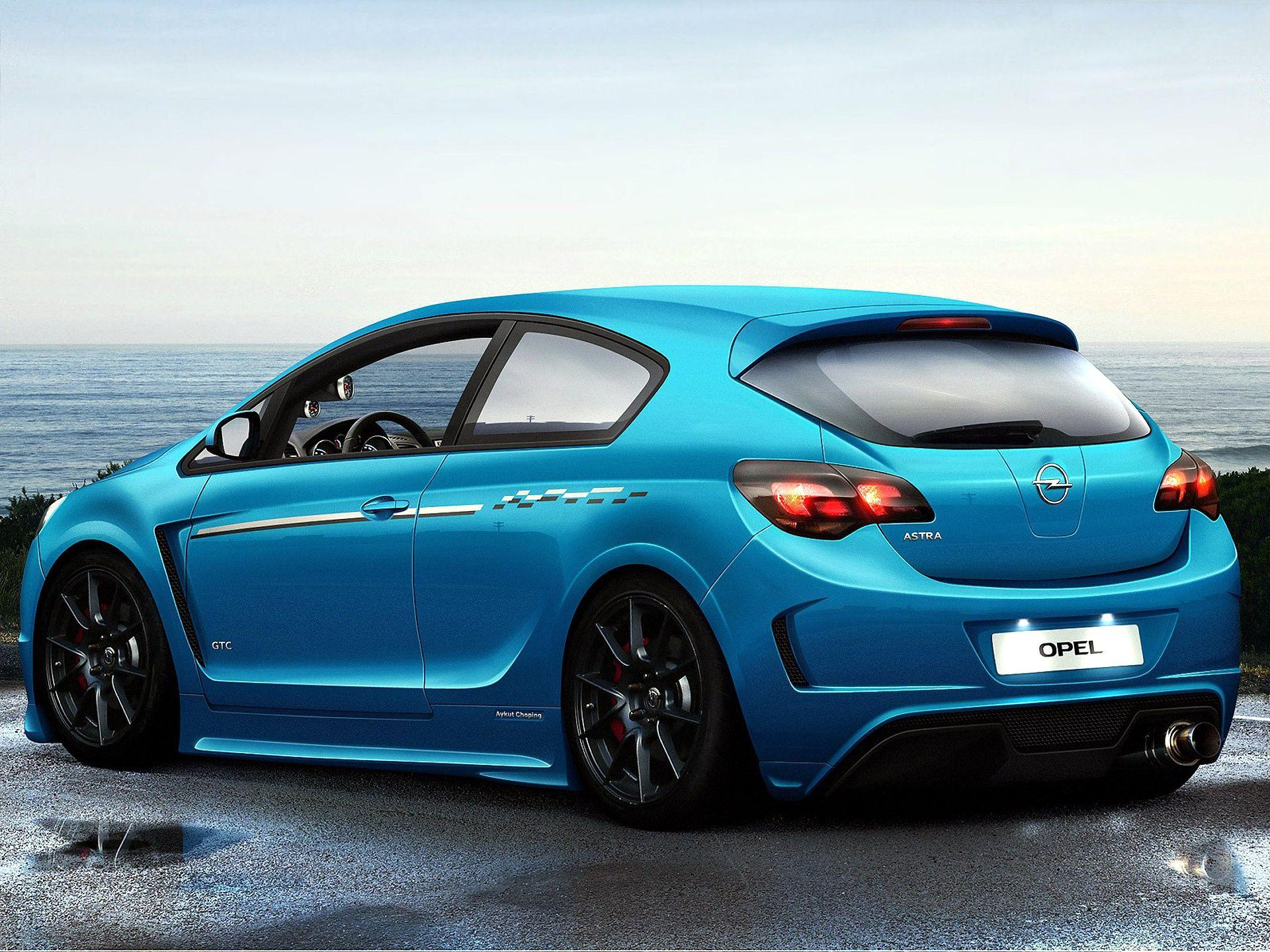 Opel astra coupe gtc, wallpapers backgrounds