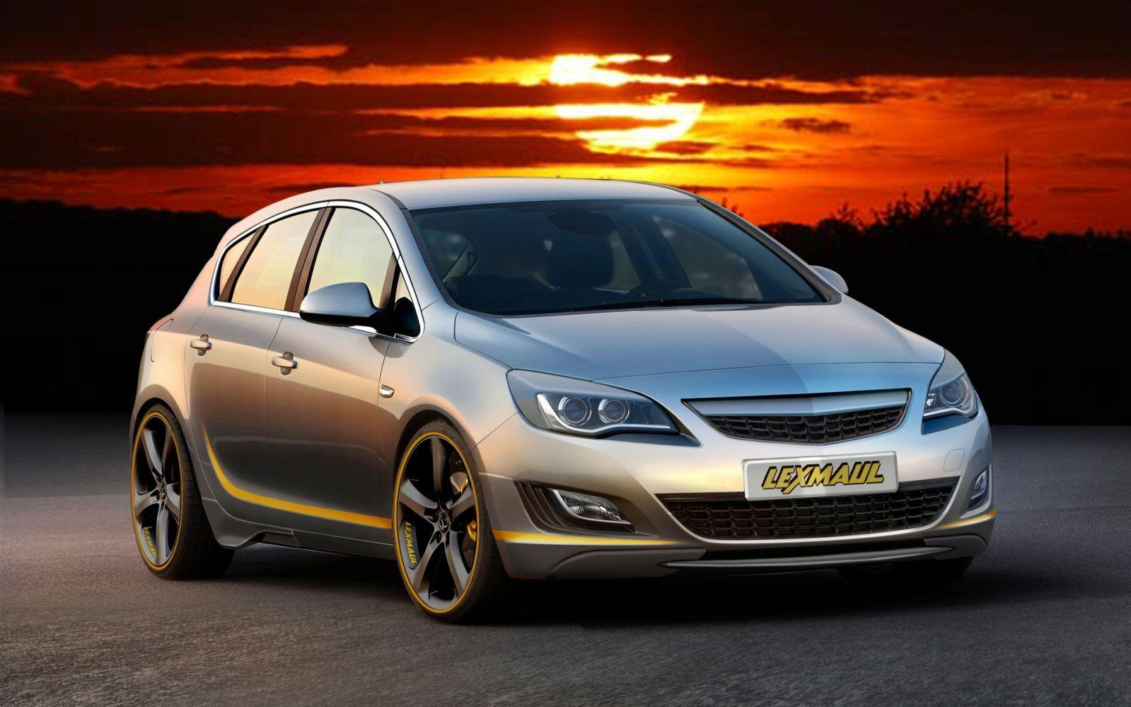 Lexmaul Opel Astra wallpapers