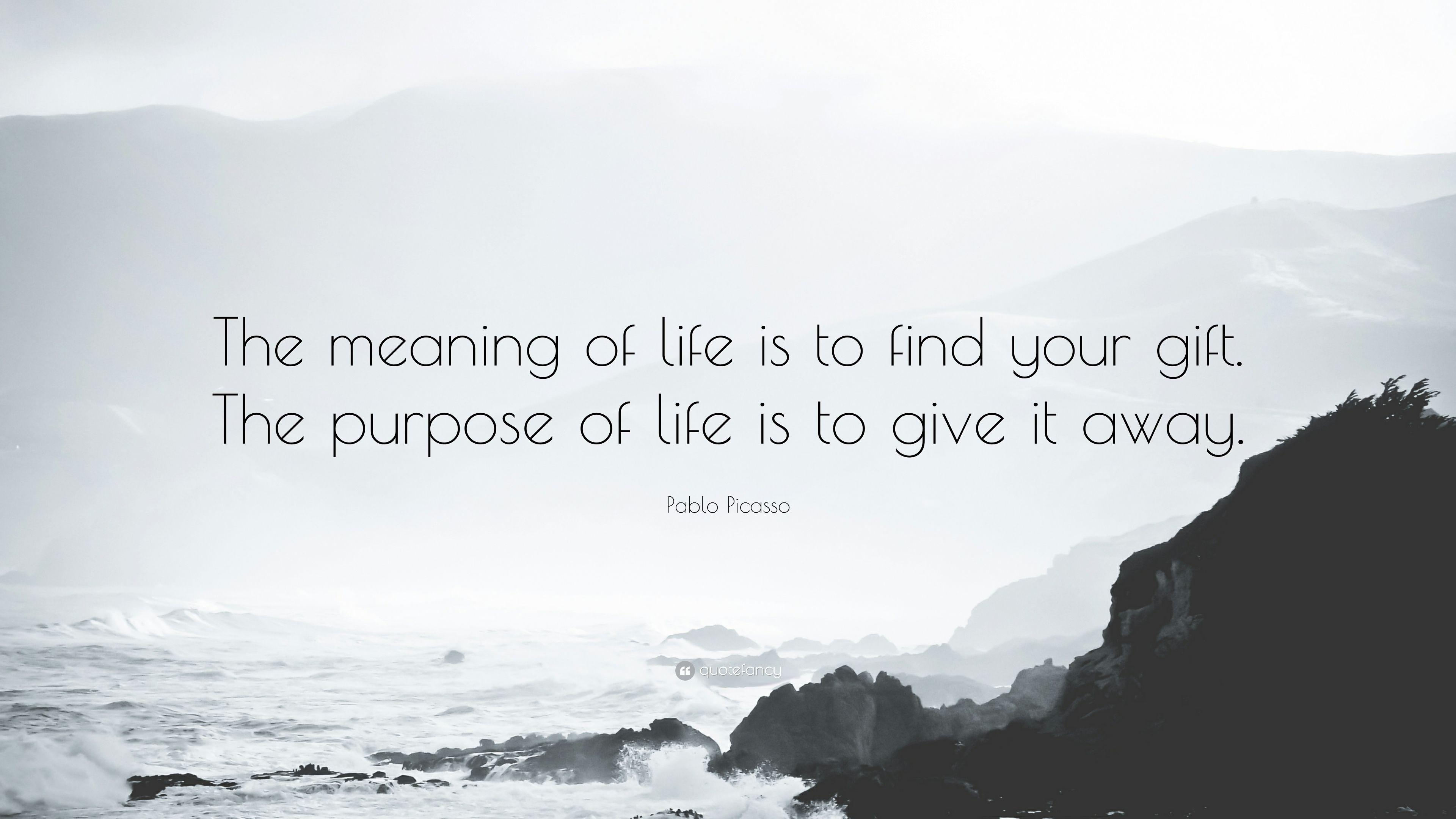 Purpose Of Life Quotes Meaning Of Life Quotes Wallpapers  Wallpaper Cave