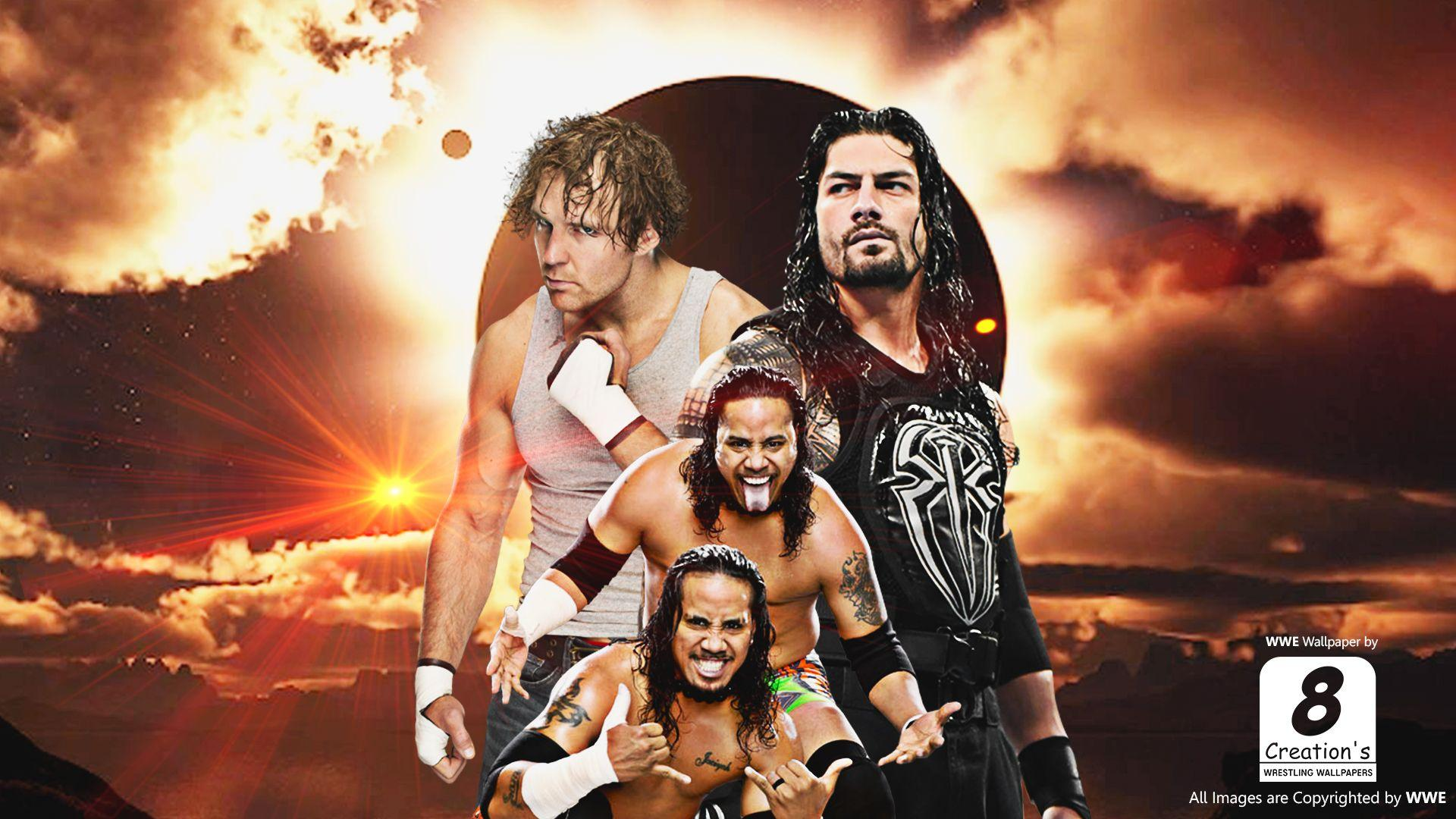 Dean Ambrose And Roman Reigns Wallpapers Wallpaper Cave
