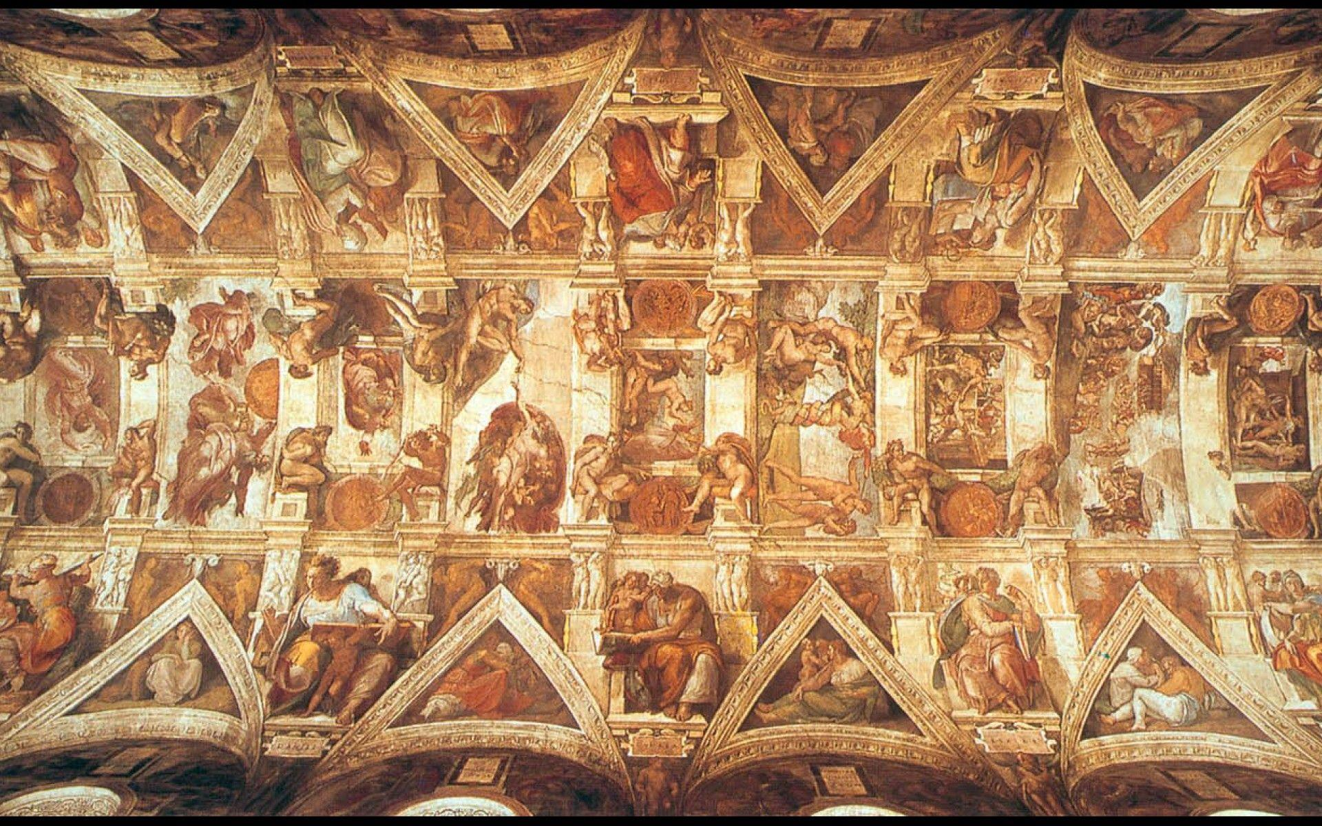 Sistine Chapel Wallpapers Wallpaper Cave