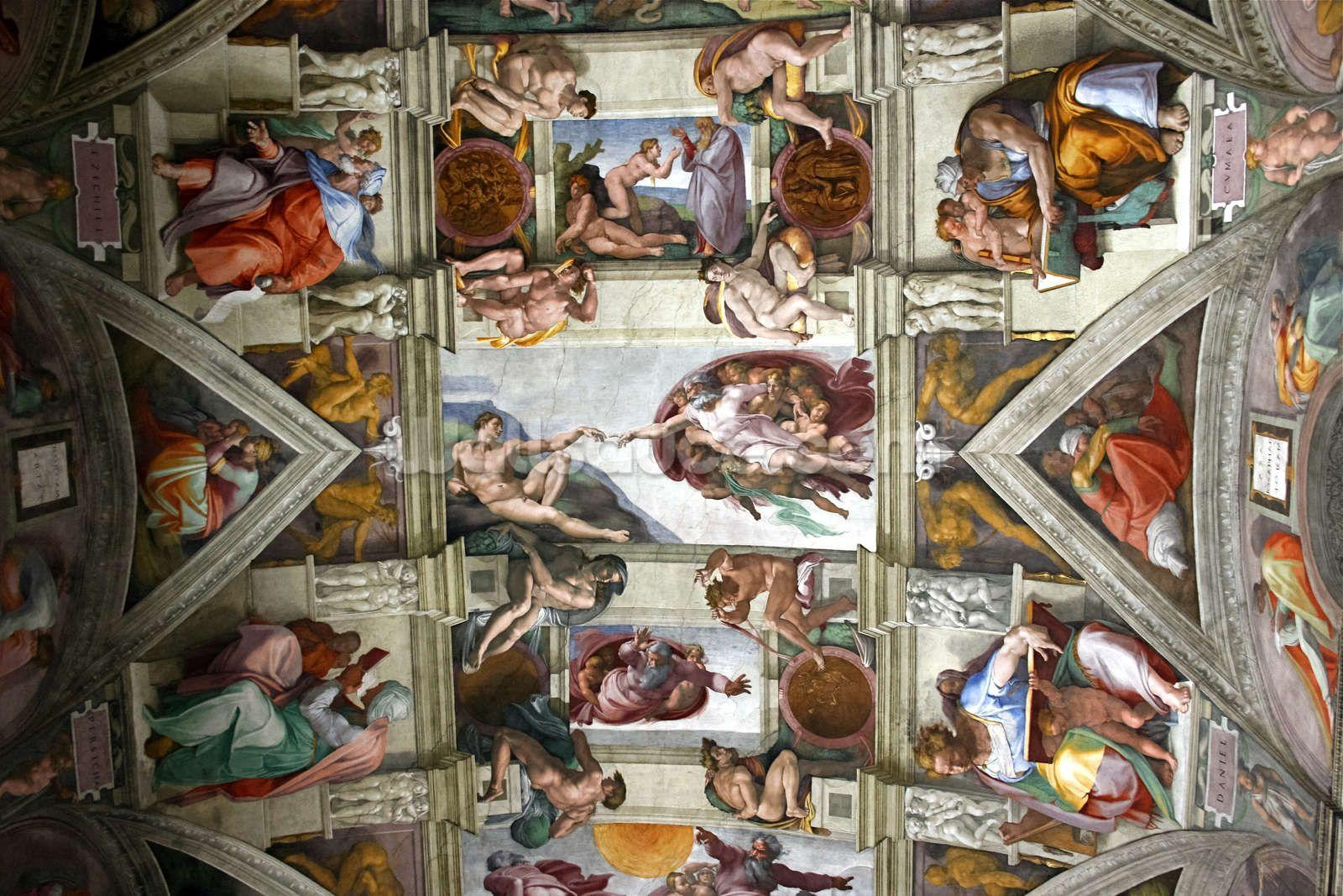 Rome's Sistine Chapel Wallpapers Wall Mural