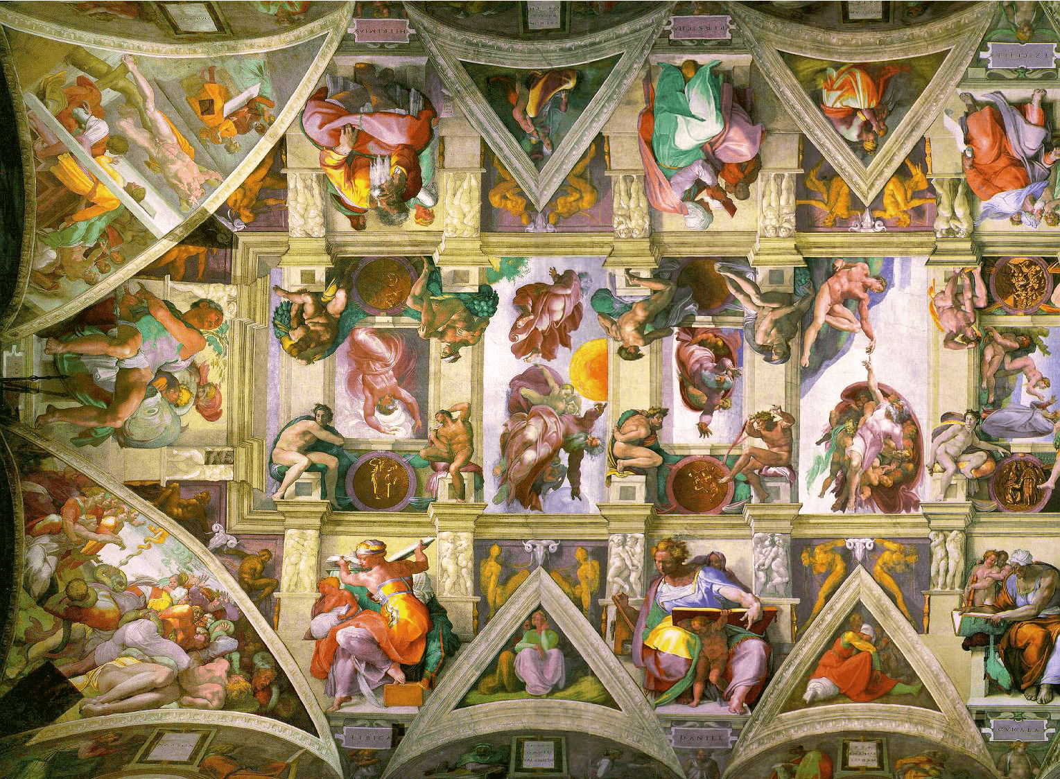 The Agony and the Ecstasy: Michelangelo's Sistine Chapel ceiling