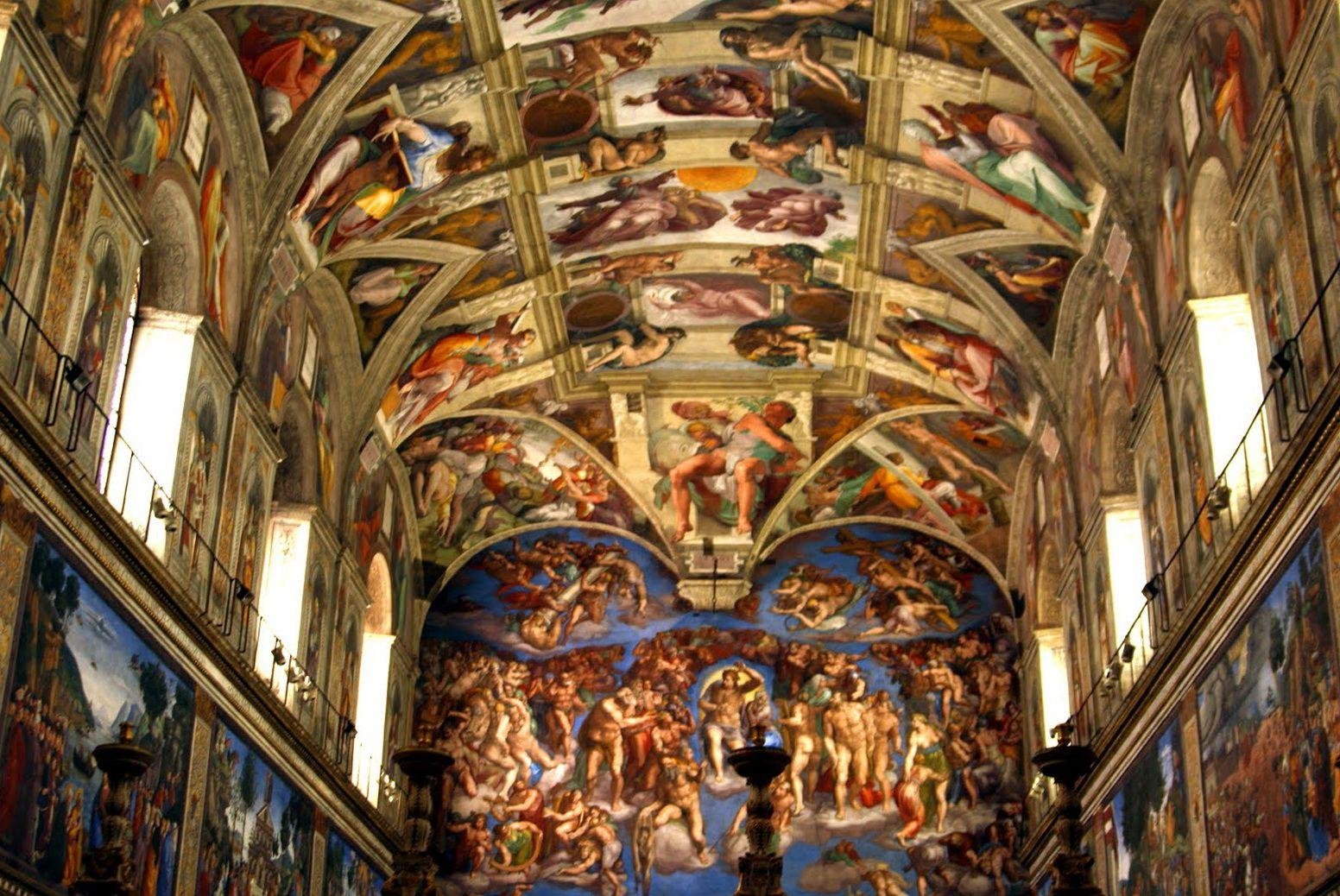 Sistine Chapel Ceiling Wallpapers