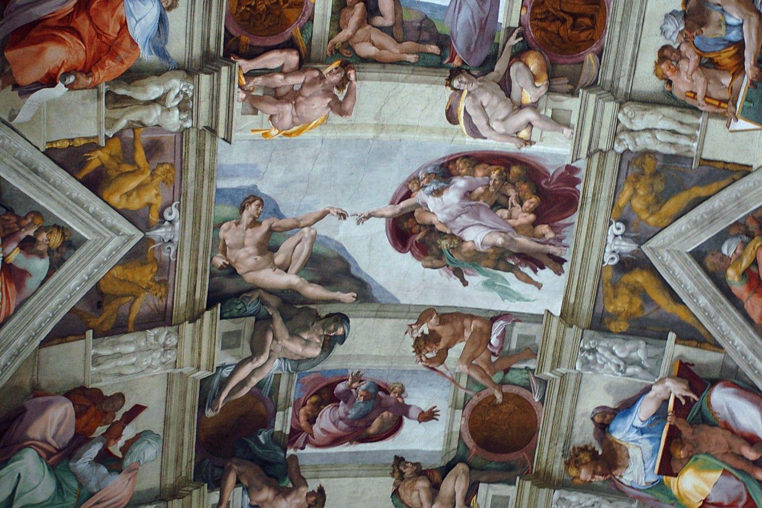 a report on my commission on painting the ceiling of the sistine chapel Sistine chapel ceiling and the last judgment - in this research a contract to agree to fulfill pope julius'commission on painting the ceiling of the.