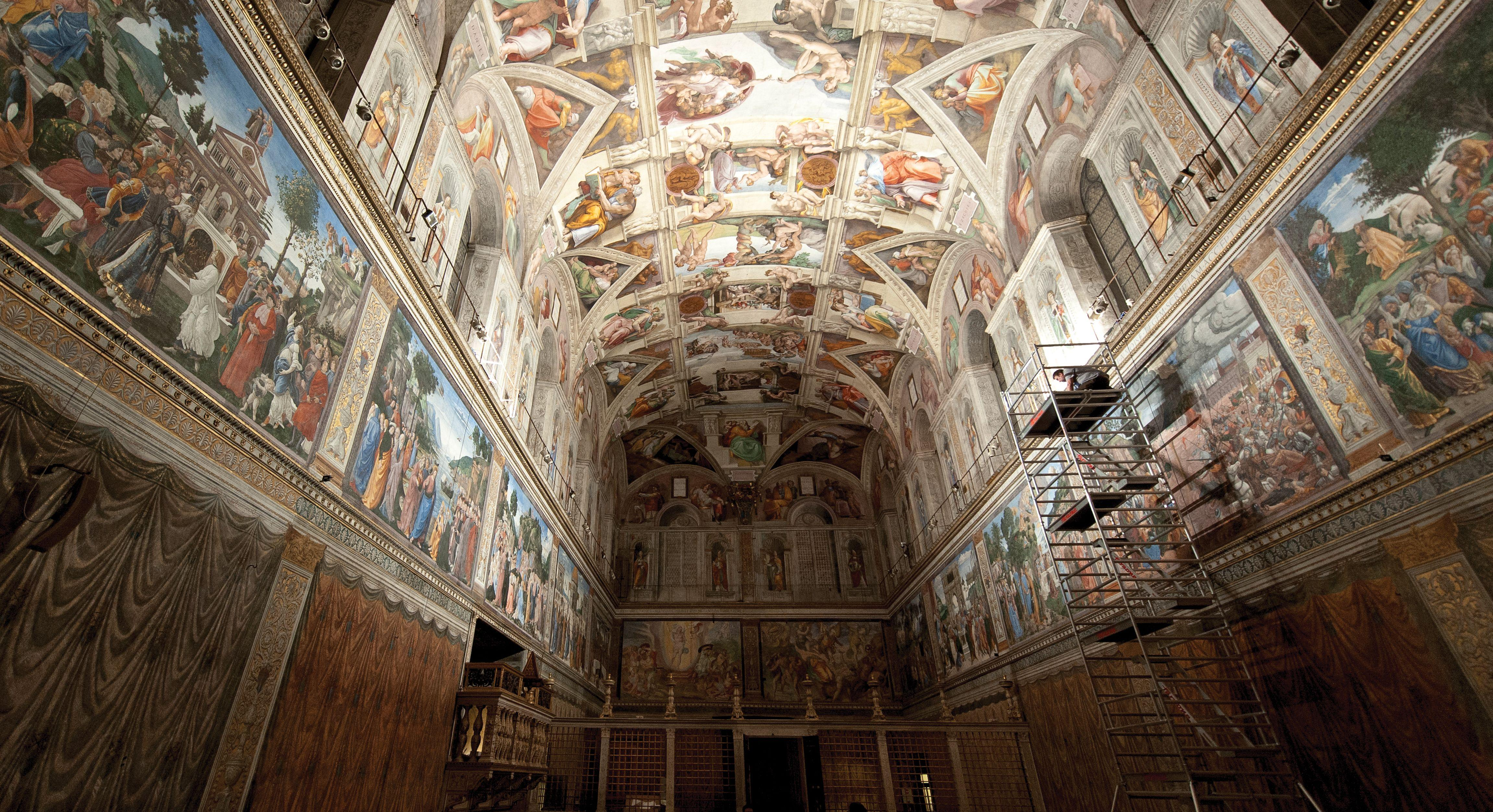 Sistine Chapel Ceiling Height