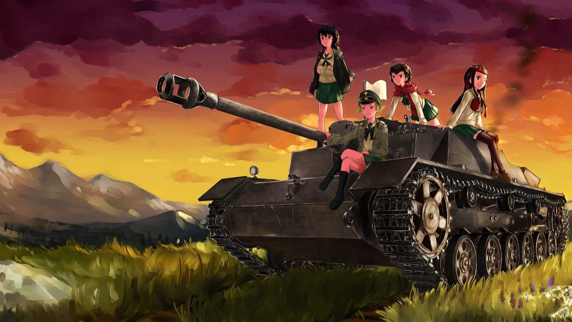 Girls And Panzer