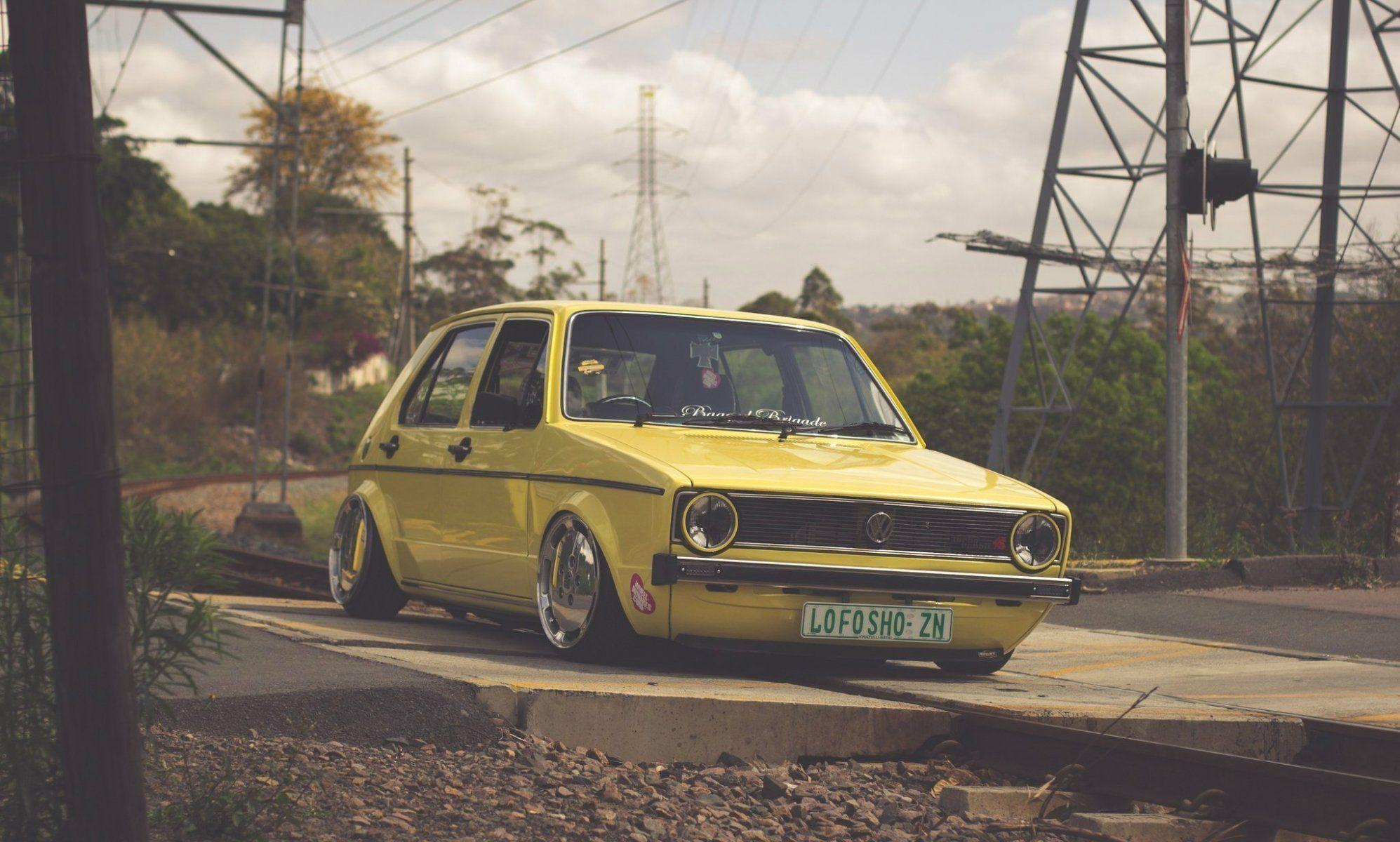 Best Wallpaper Gallery With Pc Wallpaper Volkswagen: Golf Mk1 Wallpapers