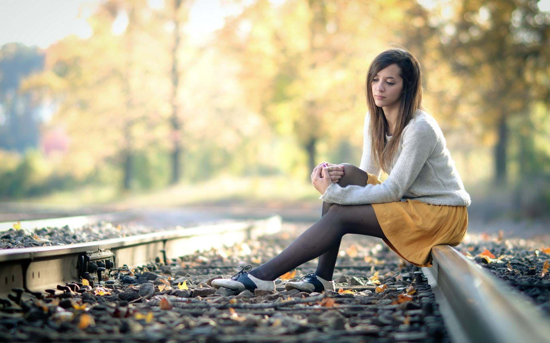 lonely girl wallpapers wallpaper cave