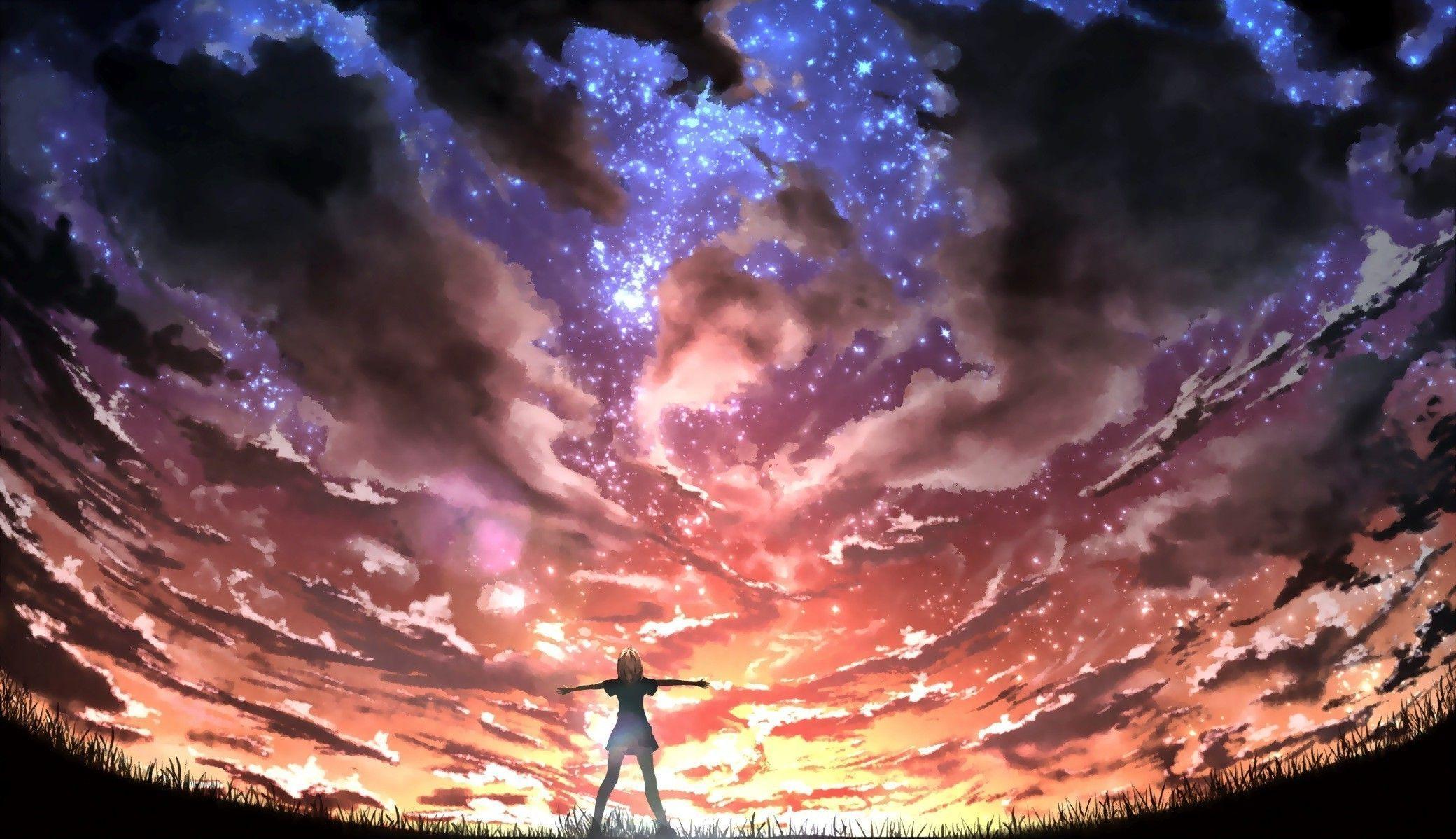 Anime Art Wallpapers Wallpaper Cave