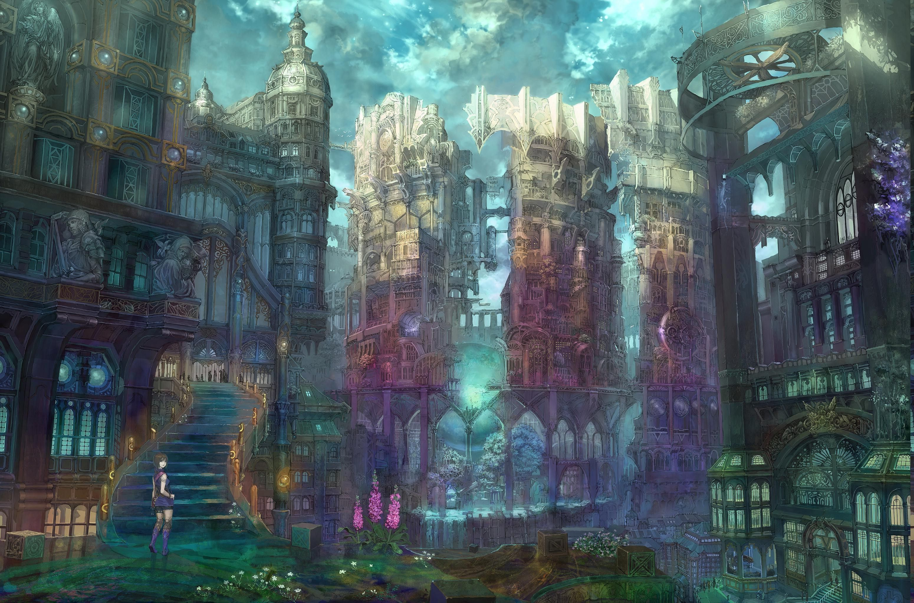 Anime Art Wallpapers - Wallpaper Cave