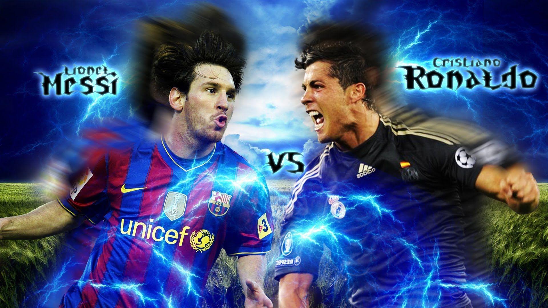 Cristiano Ronaldo Vs Lionel Messi Wallpapers Wallpaper Cave