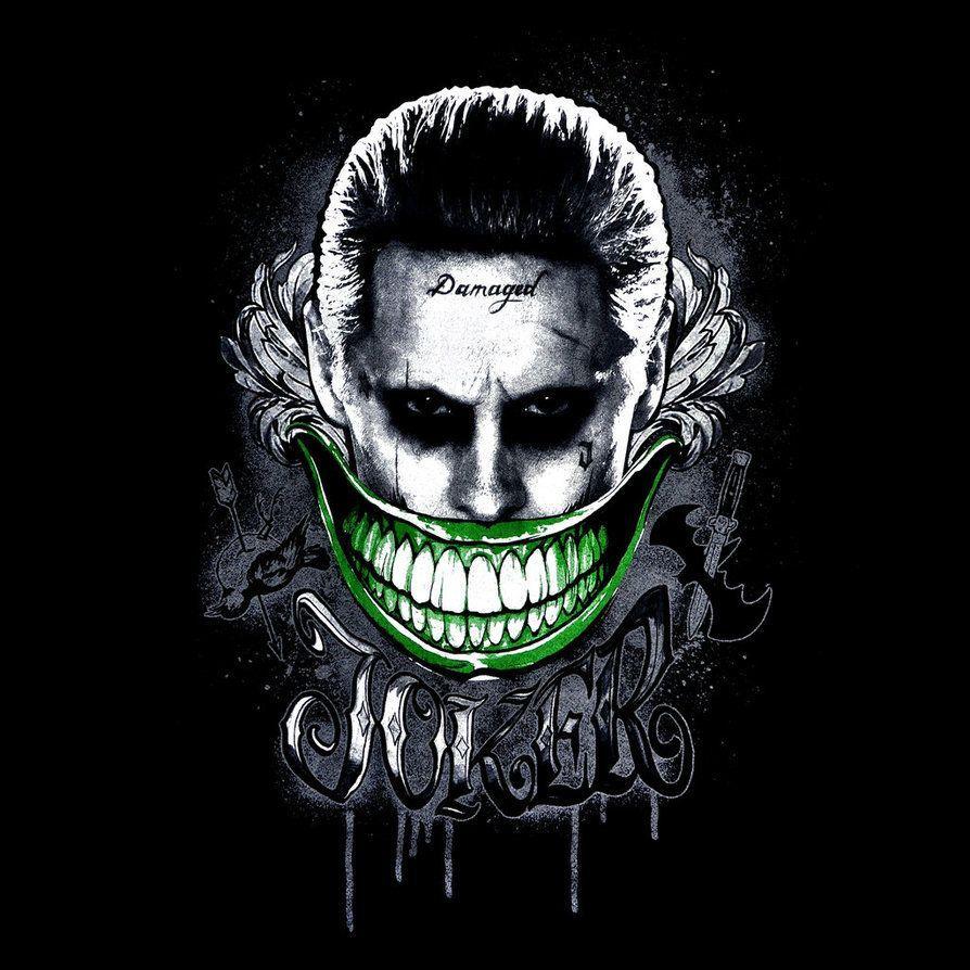 Joker logo by duck of satan on deviantart