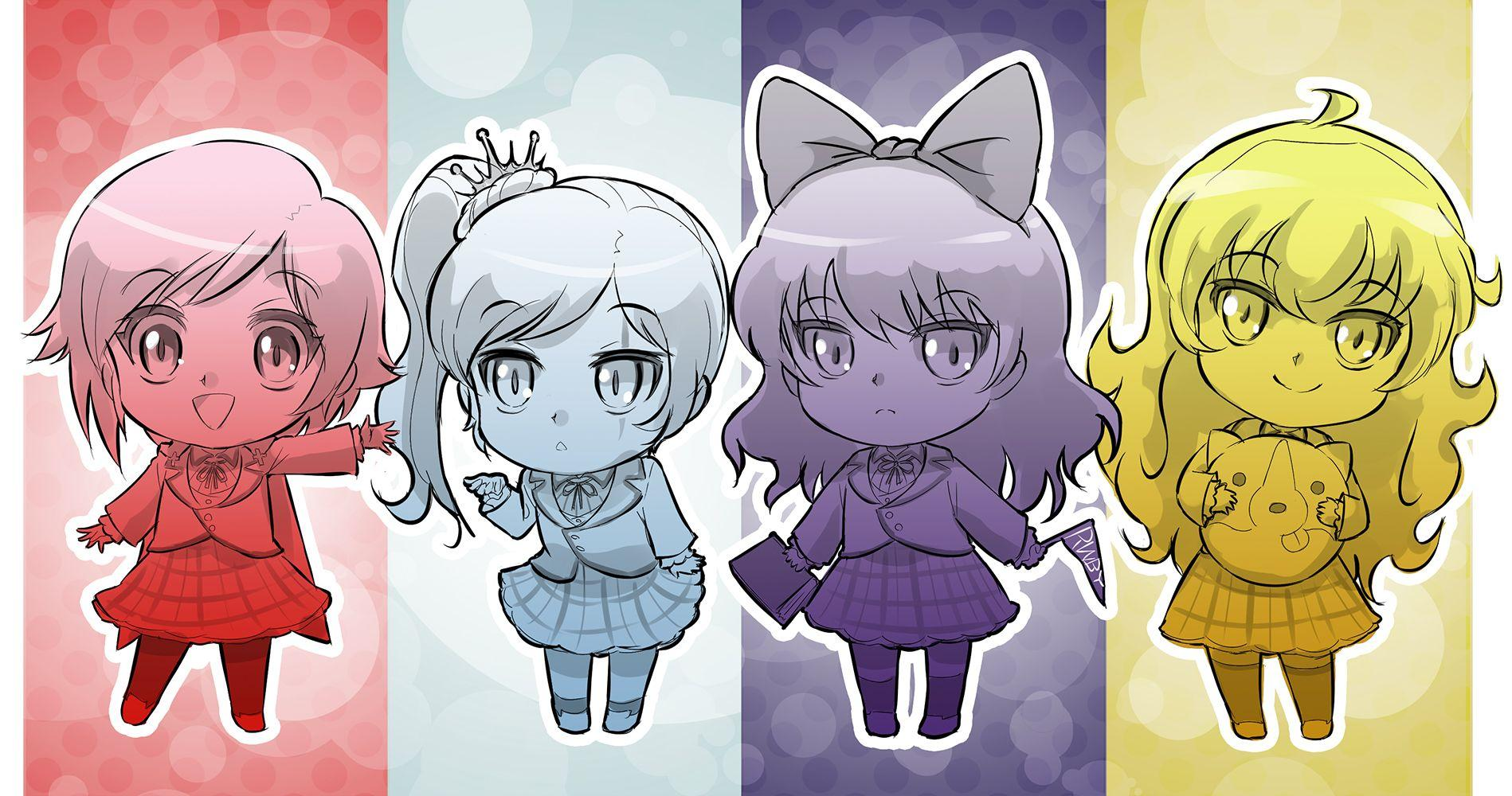 RWBY Chibi Wallpapers - Wallpaper Cave