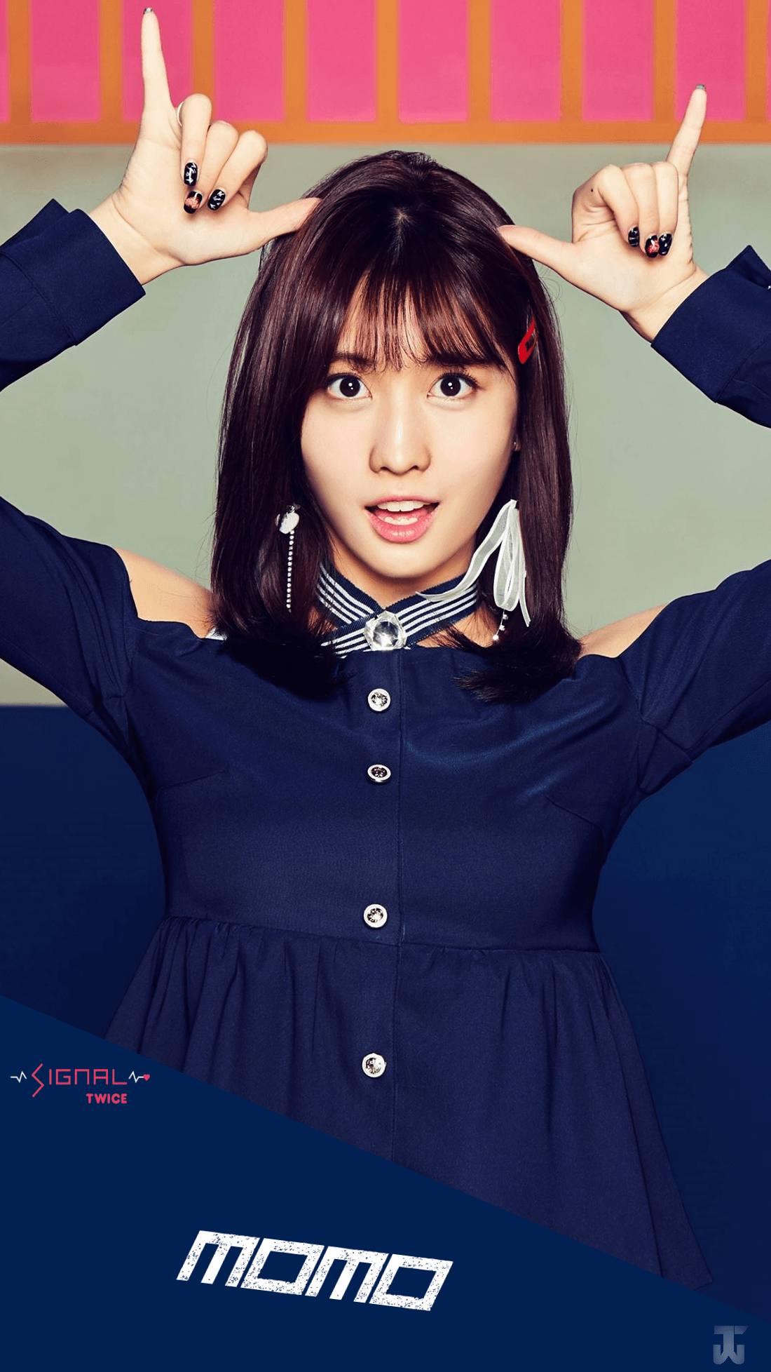 Twice Momo Wallpapers Wallpaper Cave