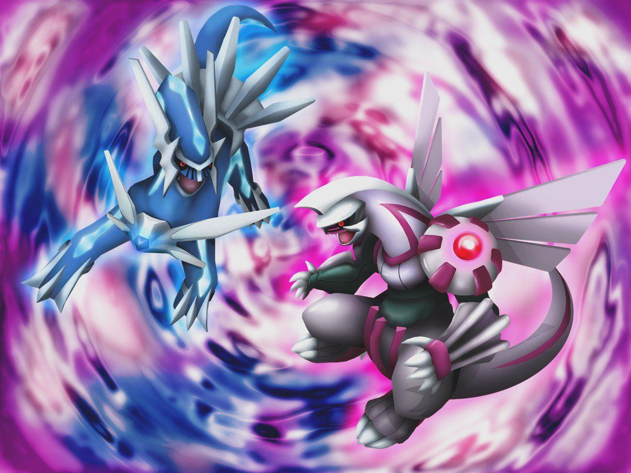 3D Dialga and Palkia Wallpapers by Keh