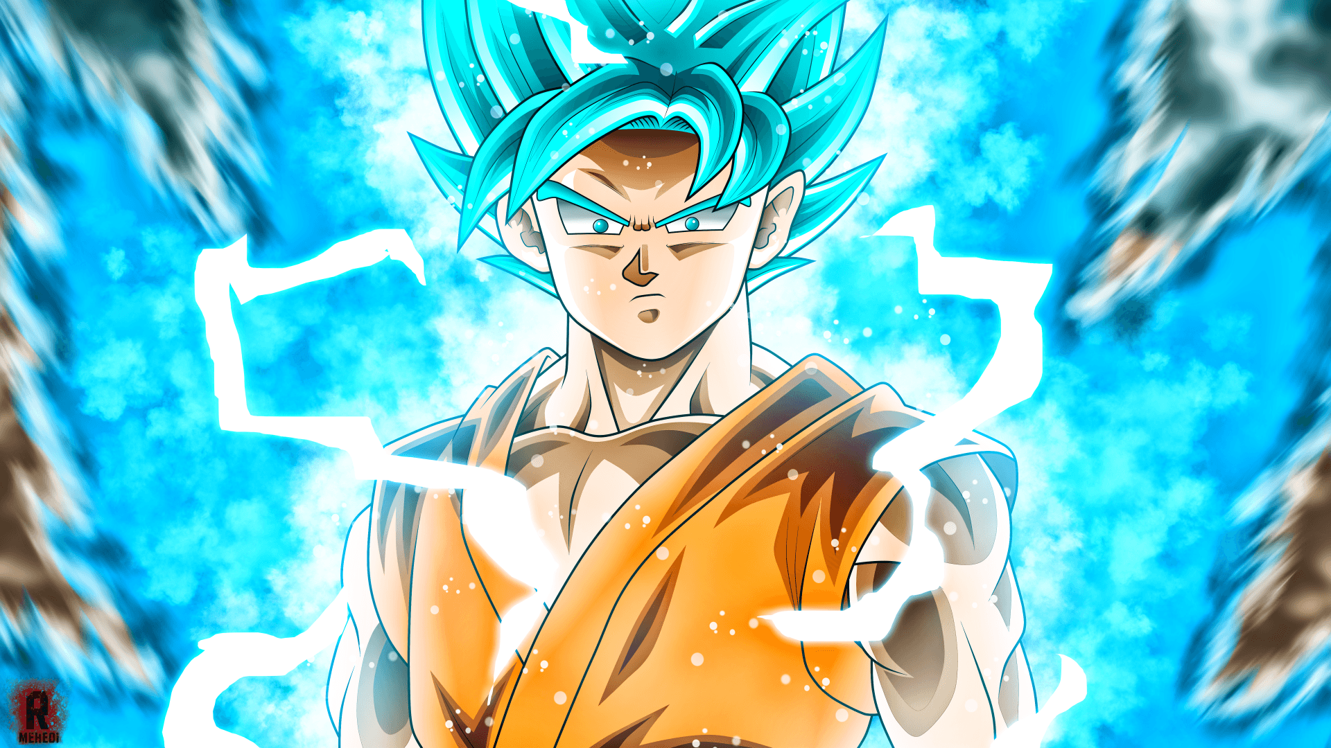 Super Saiyan Blue Goku Wallpapers Wallpaper Cave