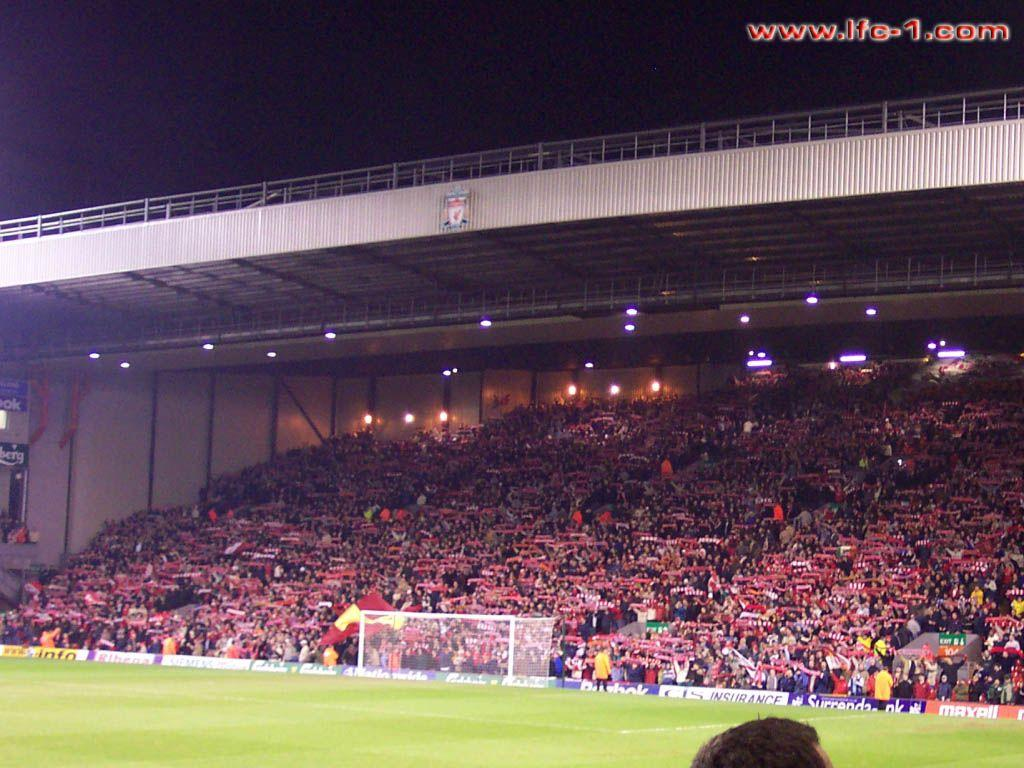 The Kop (Liverpool v Crystal Palace)