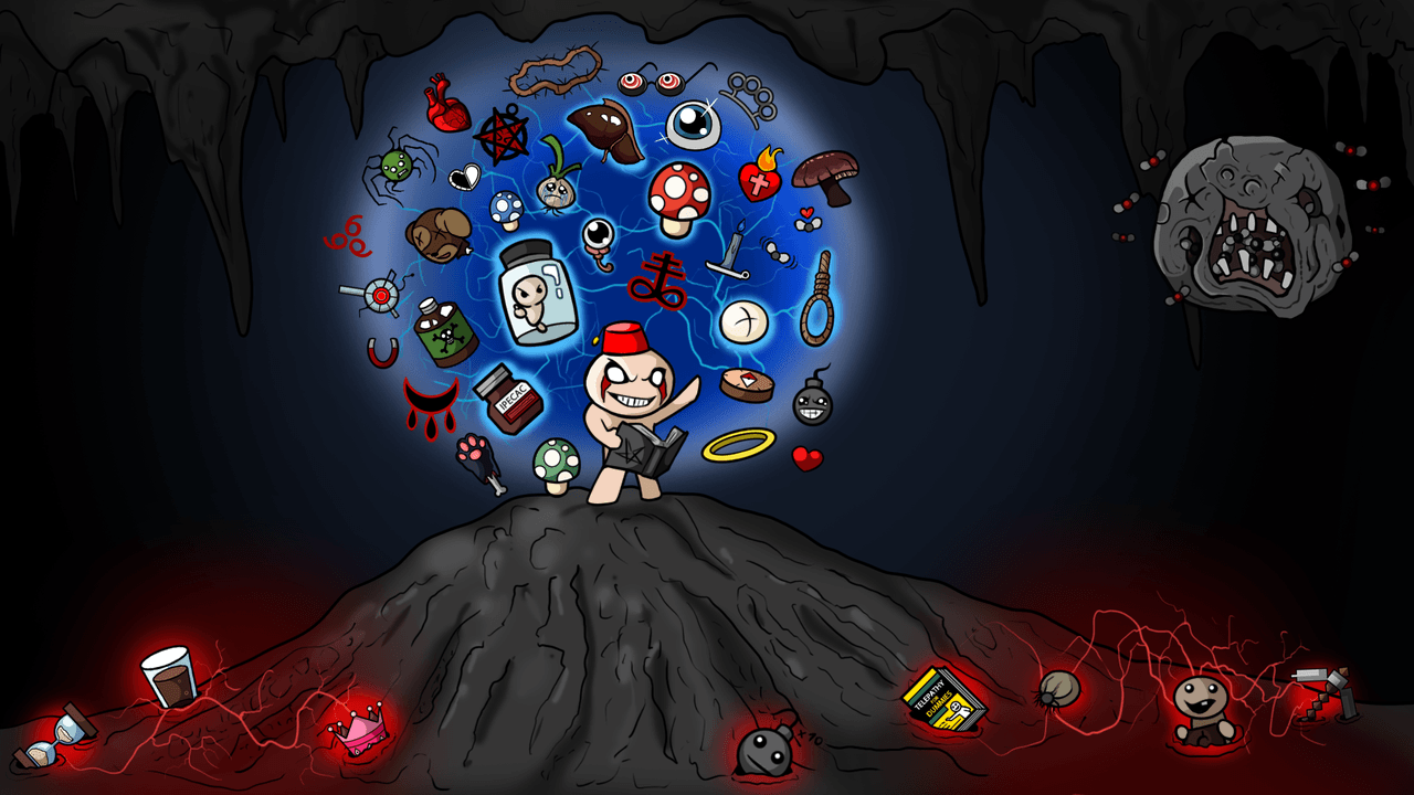 The Binding Of Isaac Wallpapers Wallpaper Cave