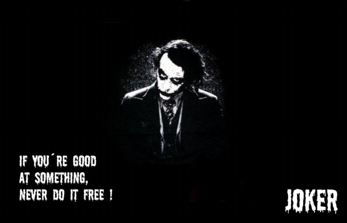The Joker Quotes Wallpapers Wallpaper Cave