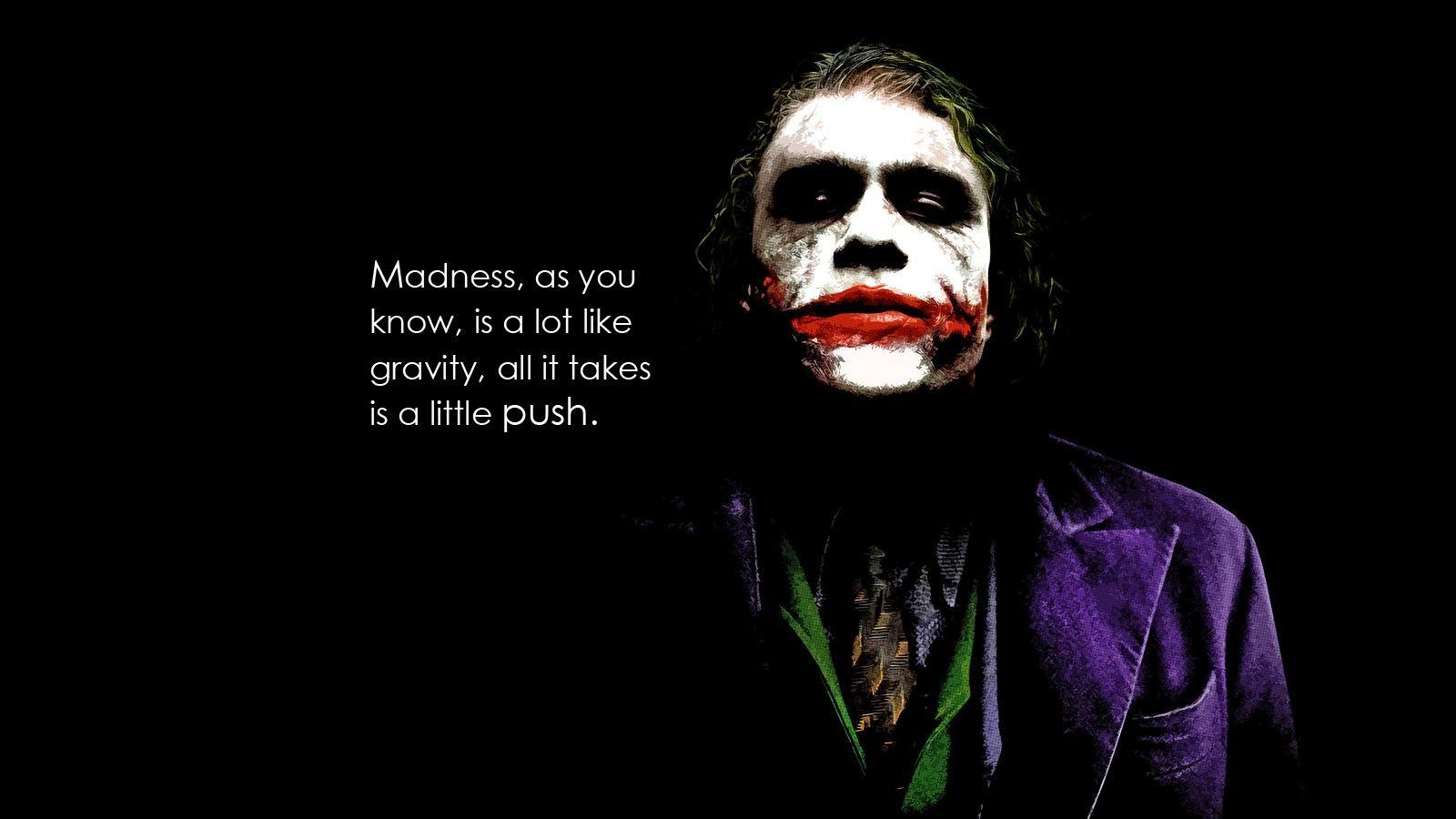 the joker quotes cave