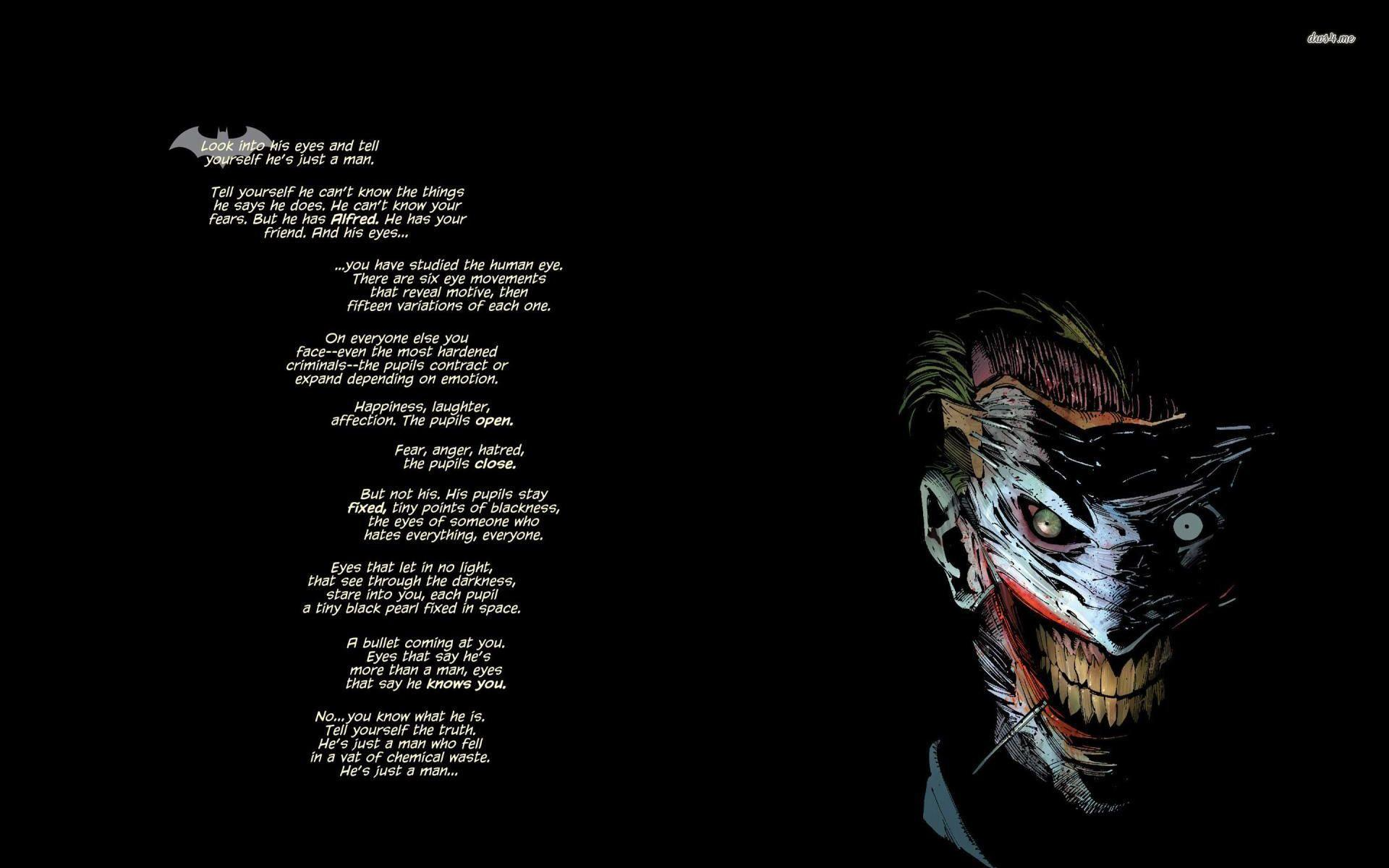 Joker Quotes If You Are Good At Something Wallpaper 15967 Softblog