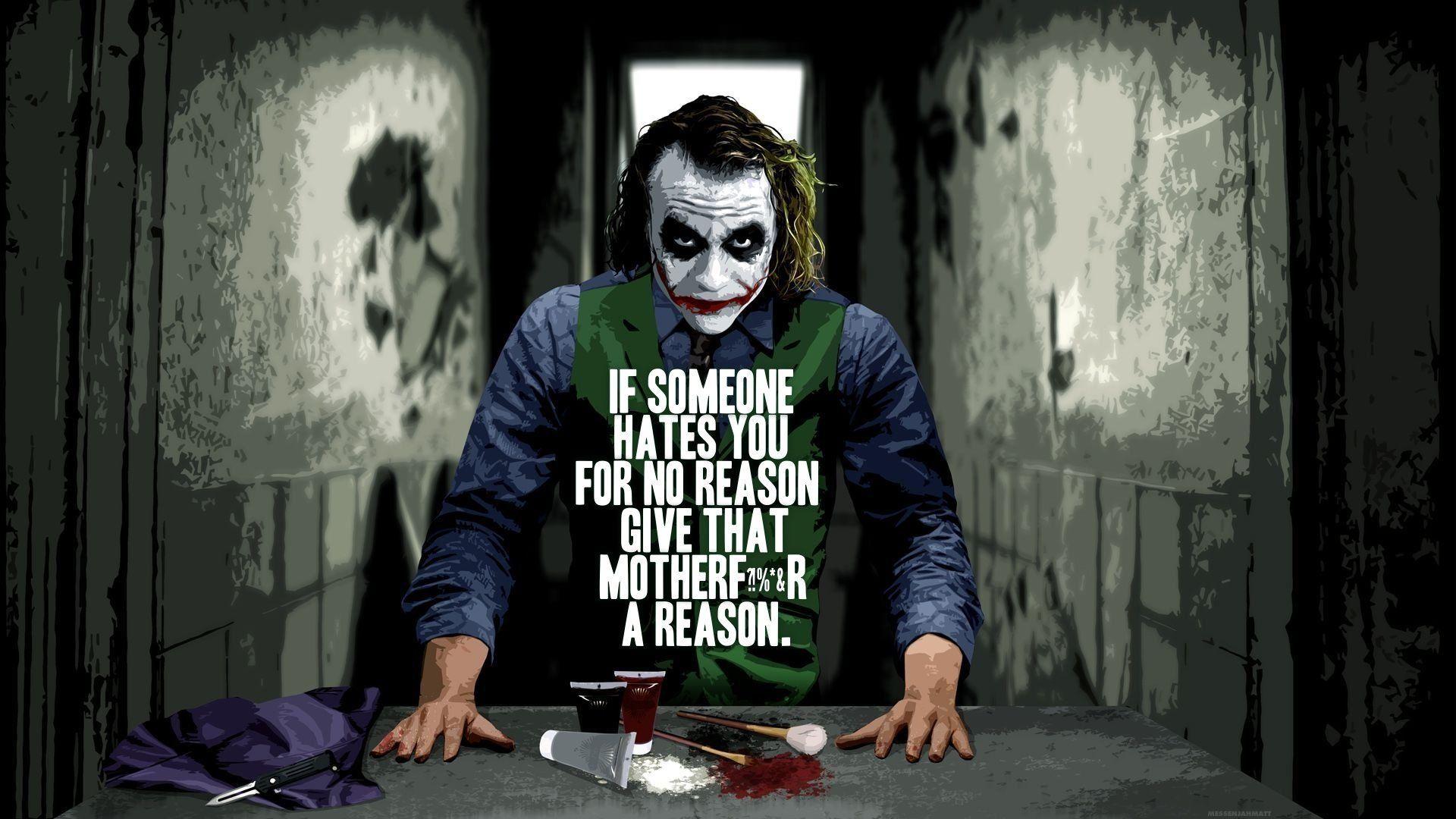 Joker Quotes: The Joker Quotes Wallpapers