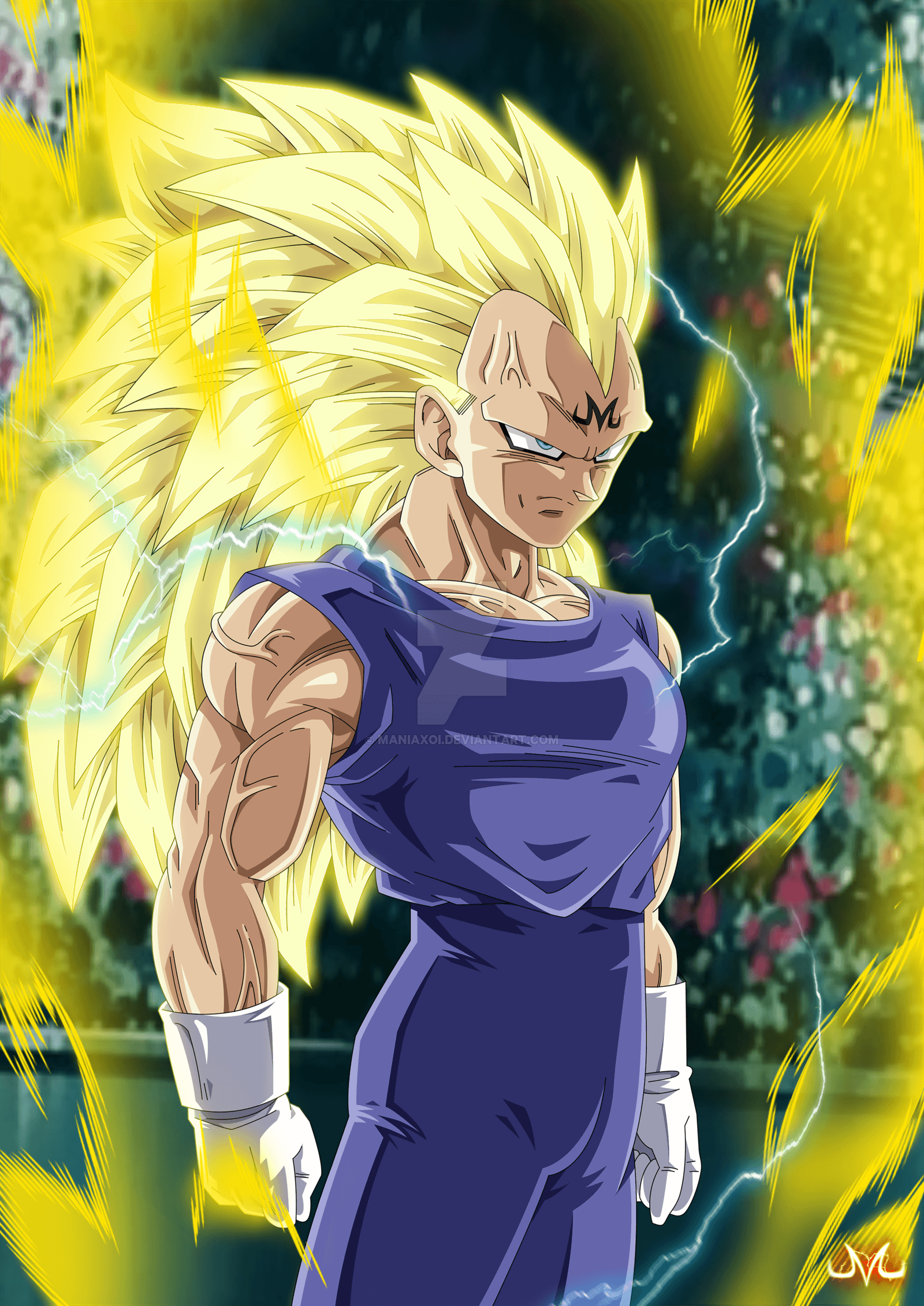 Majin Vegeta SSJ3 By Maniaxoi On DeviantArt