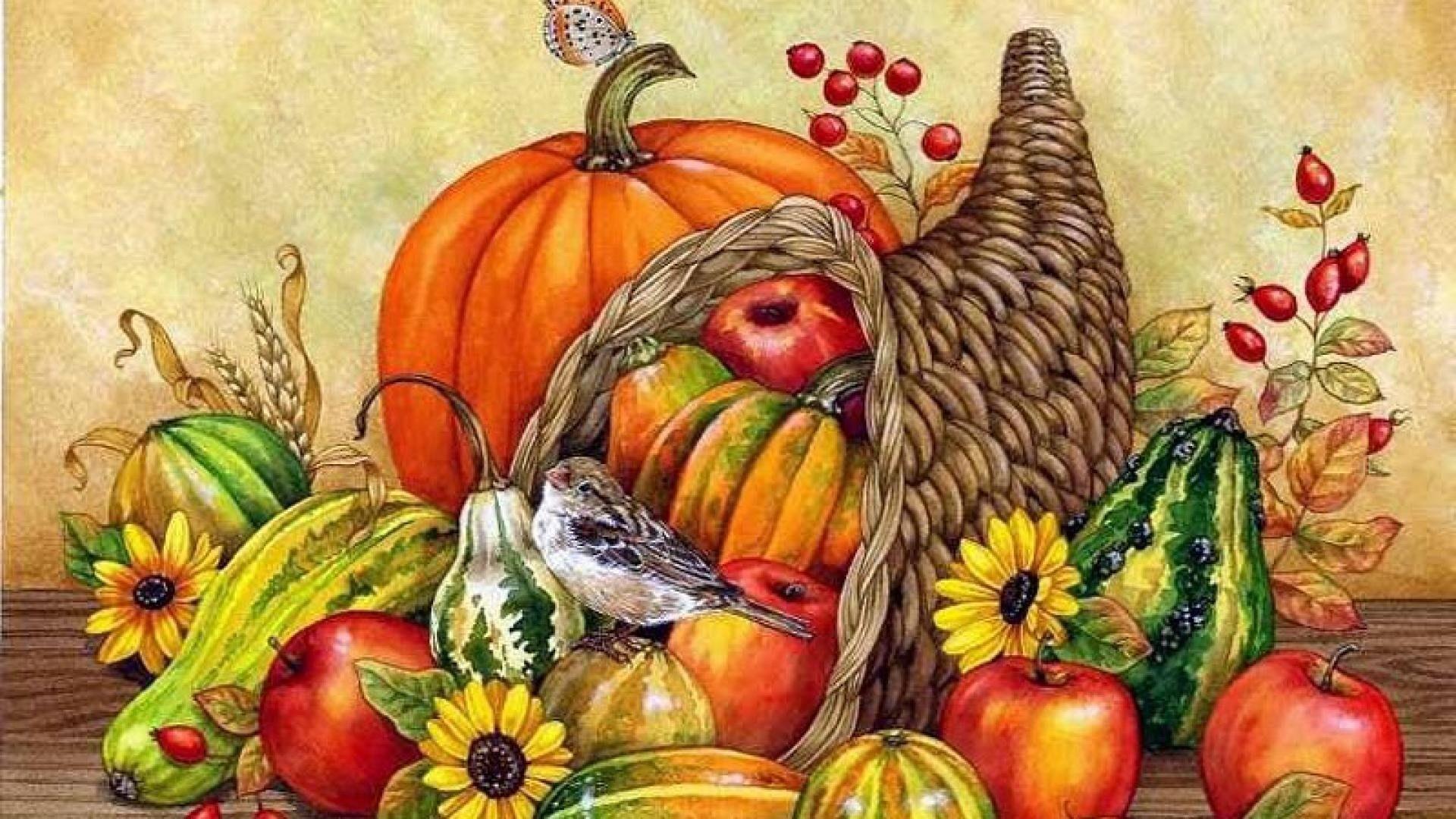Thanksgiving Cornucopia Wallpapers - Wallpaper Cave