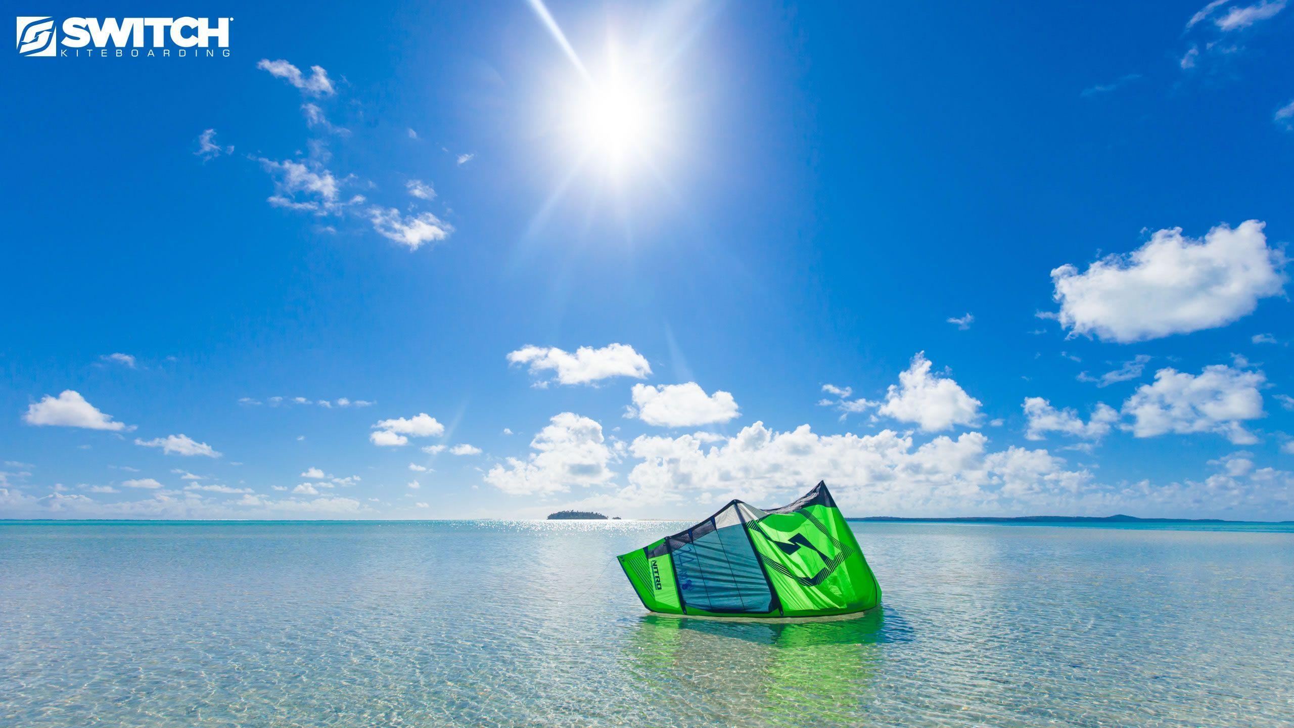 Kiteboarding Wallpaper: Tuvalu Wallpapers