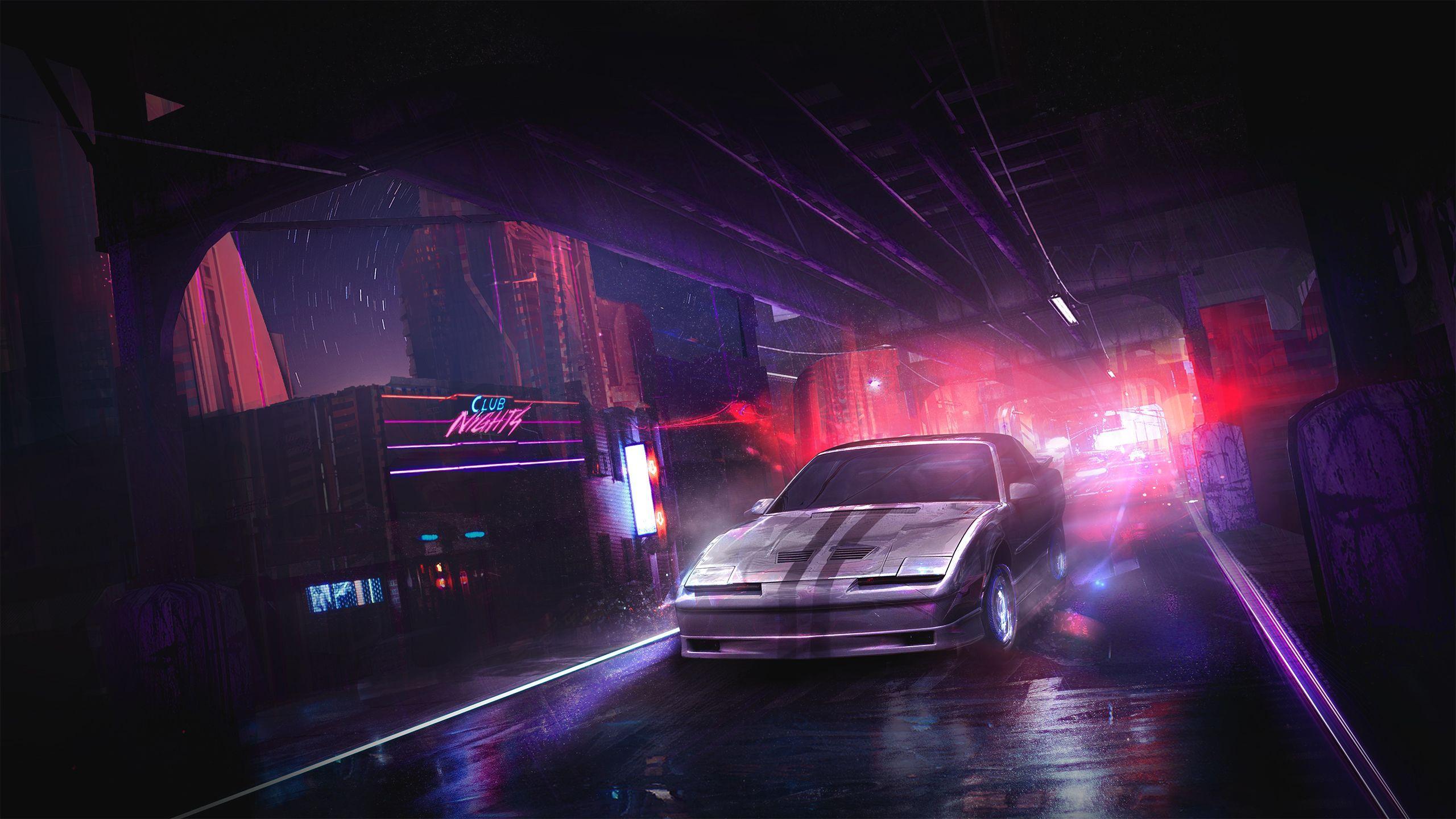Neon Car Wallpapers Wallpaper Cave