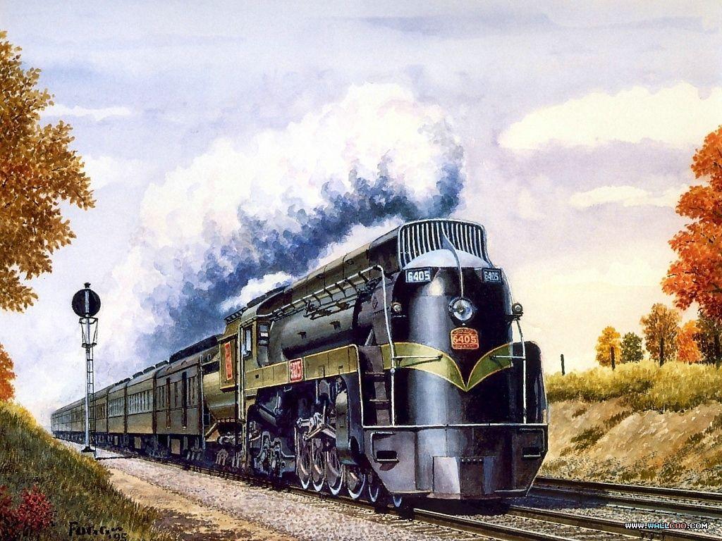 Поздравление днем, открытки с локомотивом