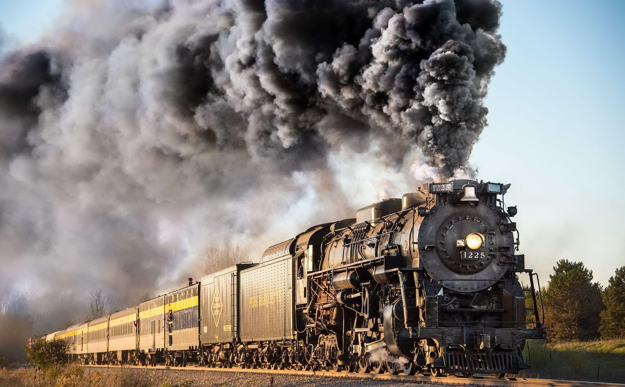 Steam Trains Wallpapers - Wallpaper Cave
