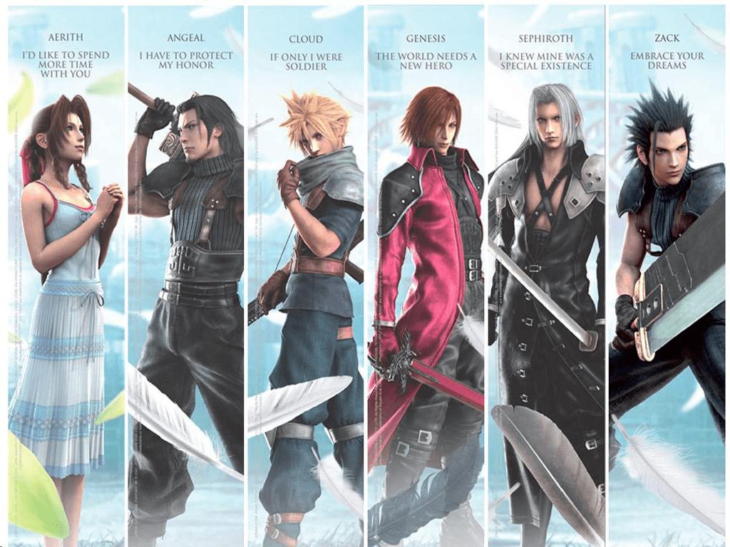 Crisis Core: Final Fantasy VII Wallpapers - Wallpaper Cave
