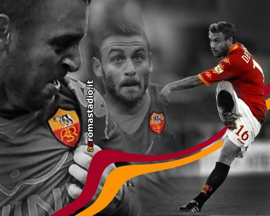 danielle de rossi as roma : Sport HD Wallpapers