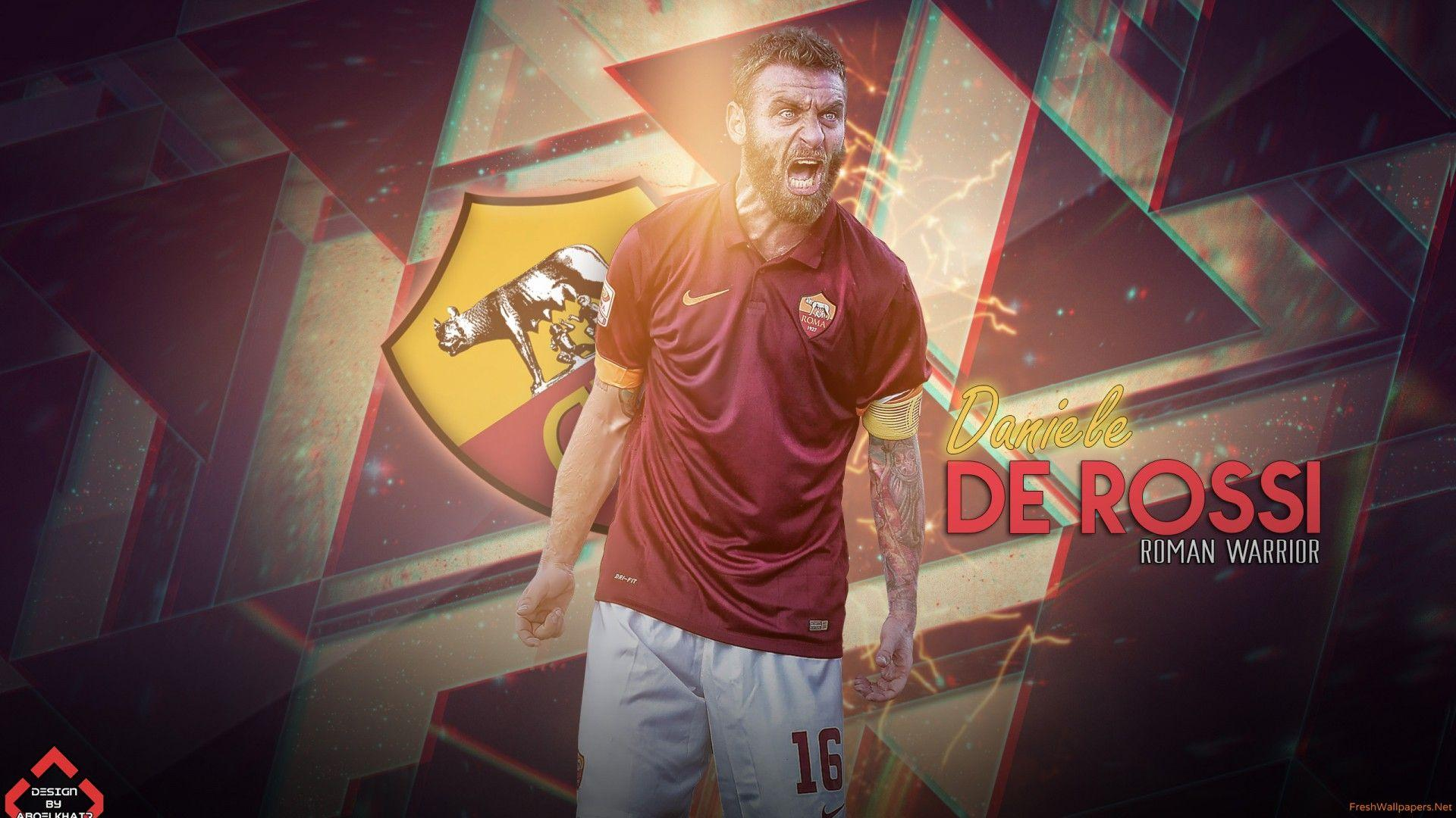 Daniele De Rossi 2015 AS Roma wallpapers