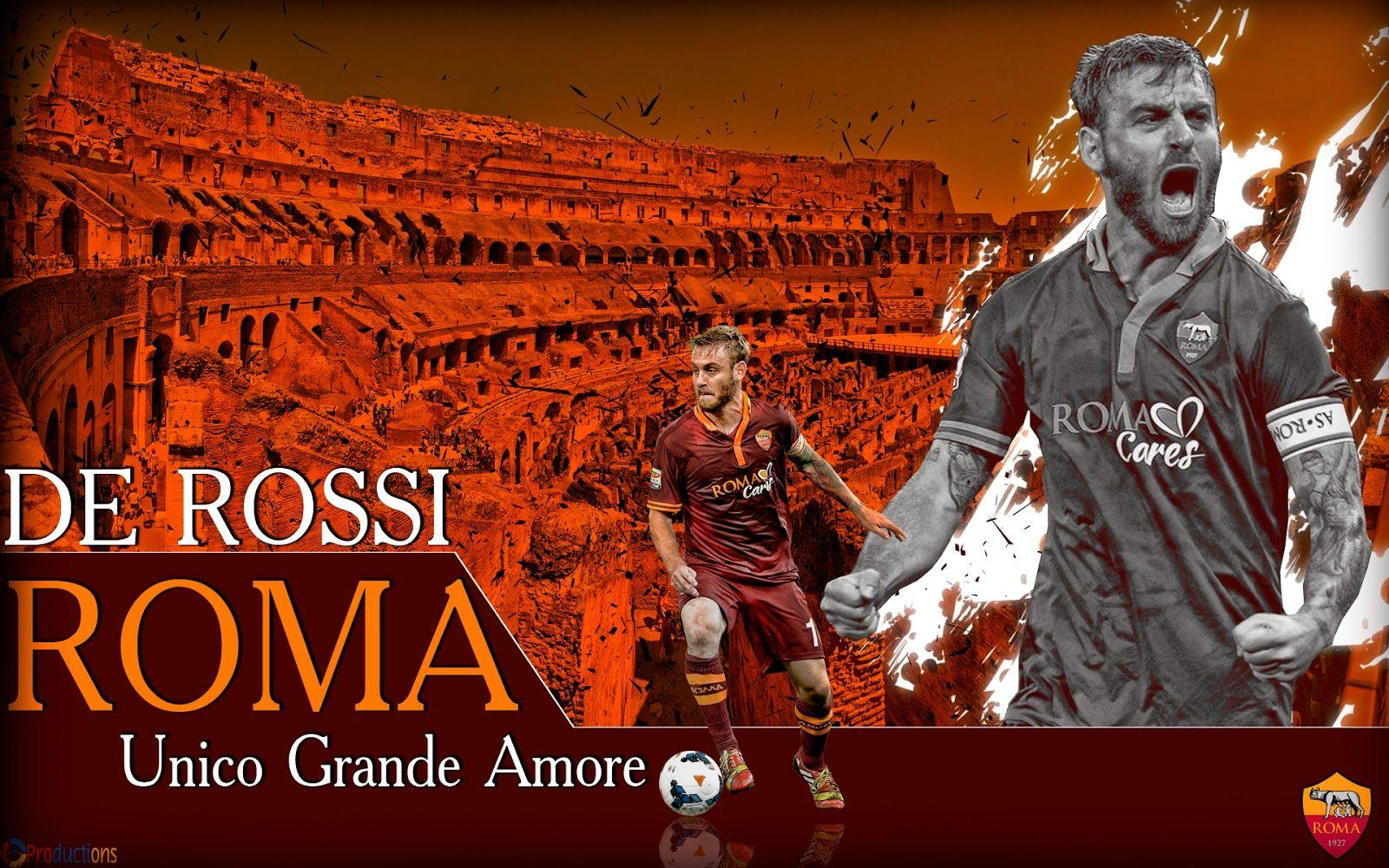 8 Productions: De Rossi Roma wallpapers 2013/14