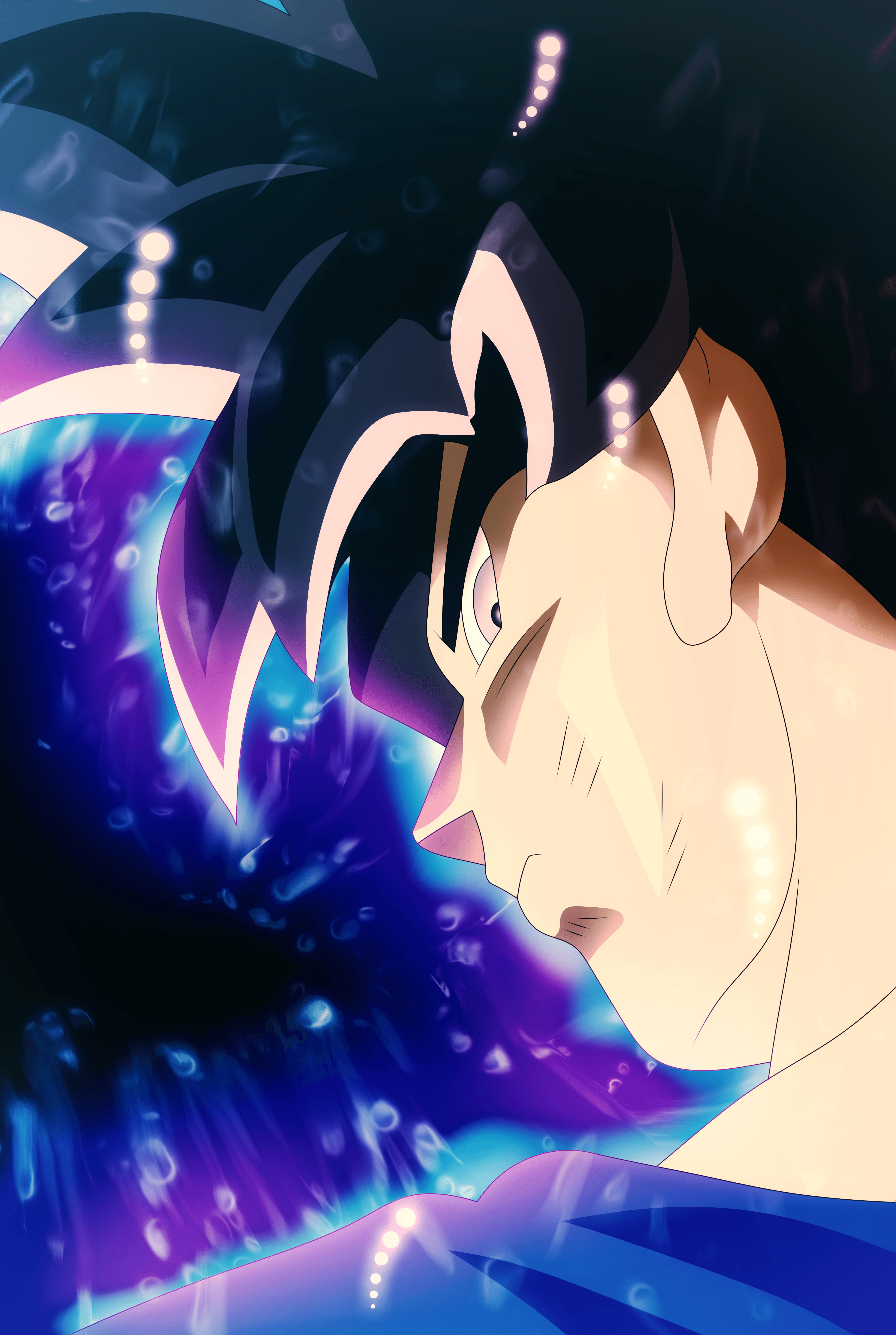 Ultra Instinct Goku Art - ID: 110195 - Art Abyss