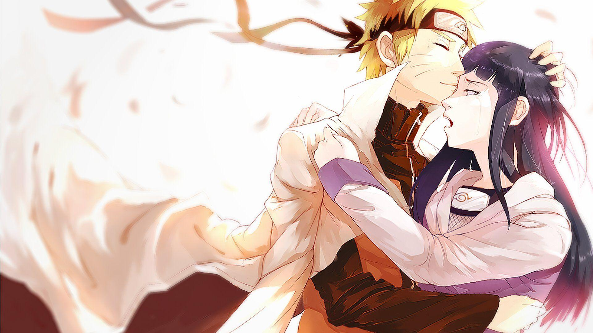 Naruto Kissing Hinata Wallpapers - Wallpaper Cave