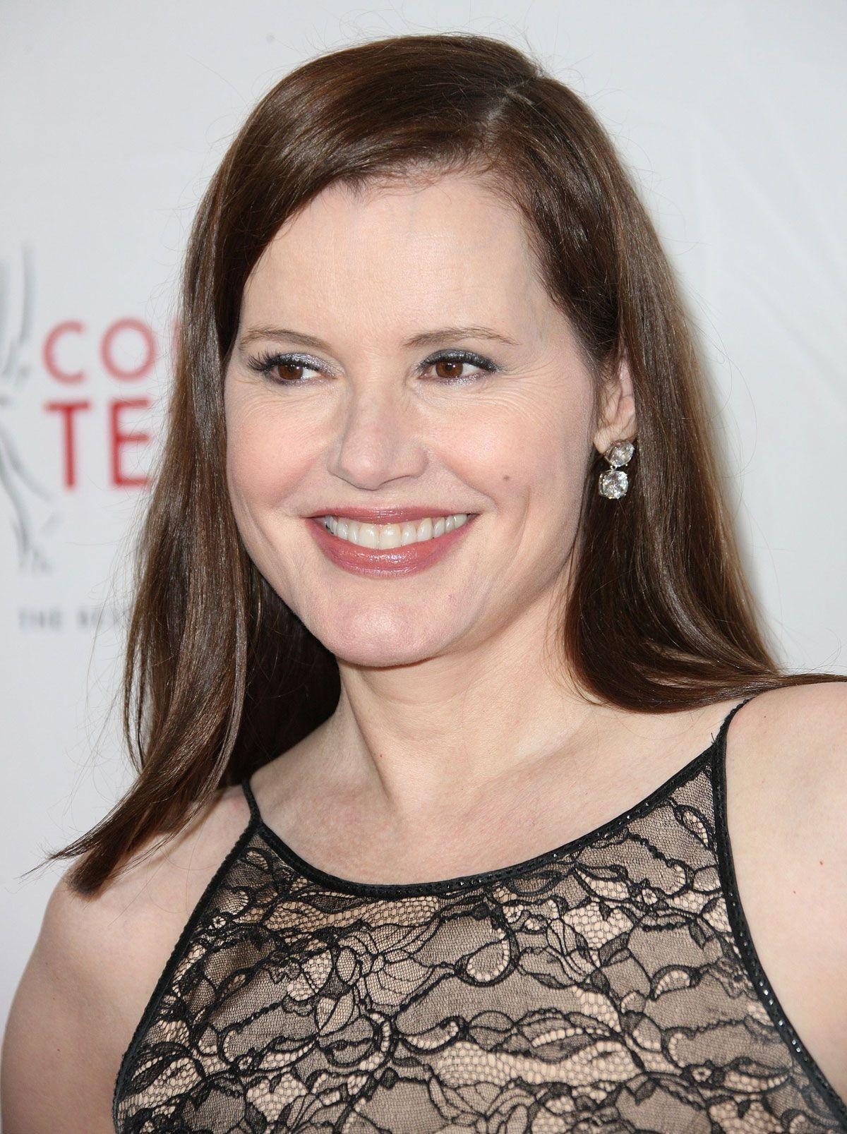 GEENA DAVIS at 33rd Annual College Television Awards in Hollywood