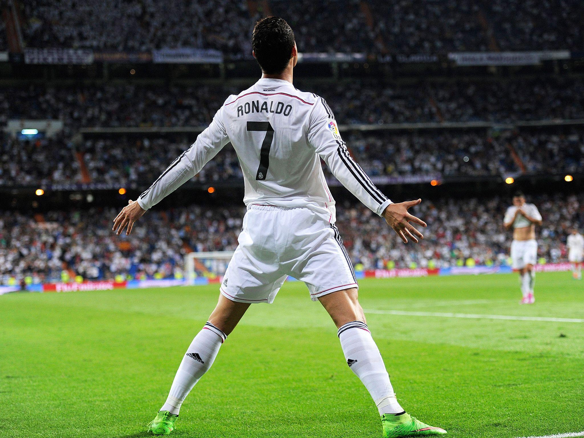 Full Hd Cristiano Ronaldo Celebration Wallpaper Imagefootball