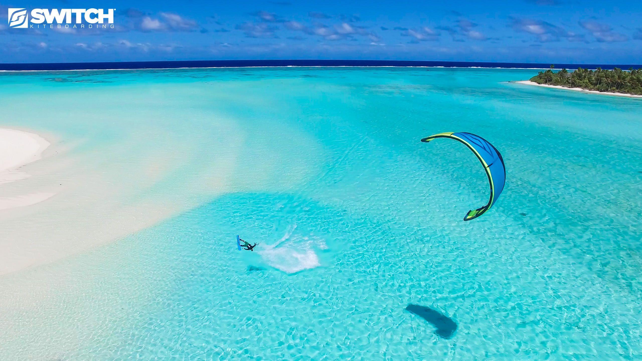 Kiteboarding Wallpaper: Vanuatu Wallpapers