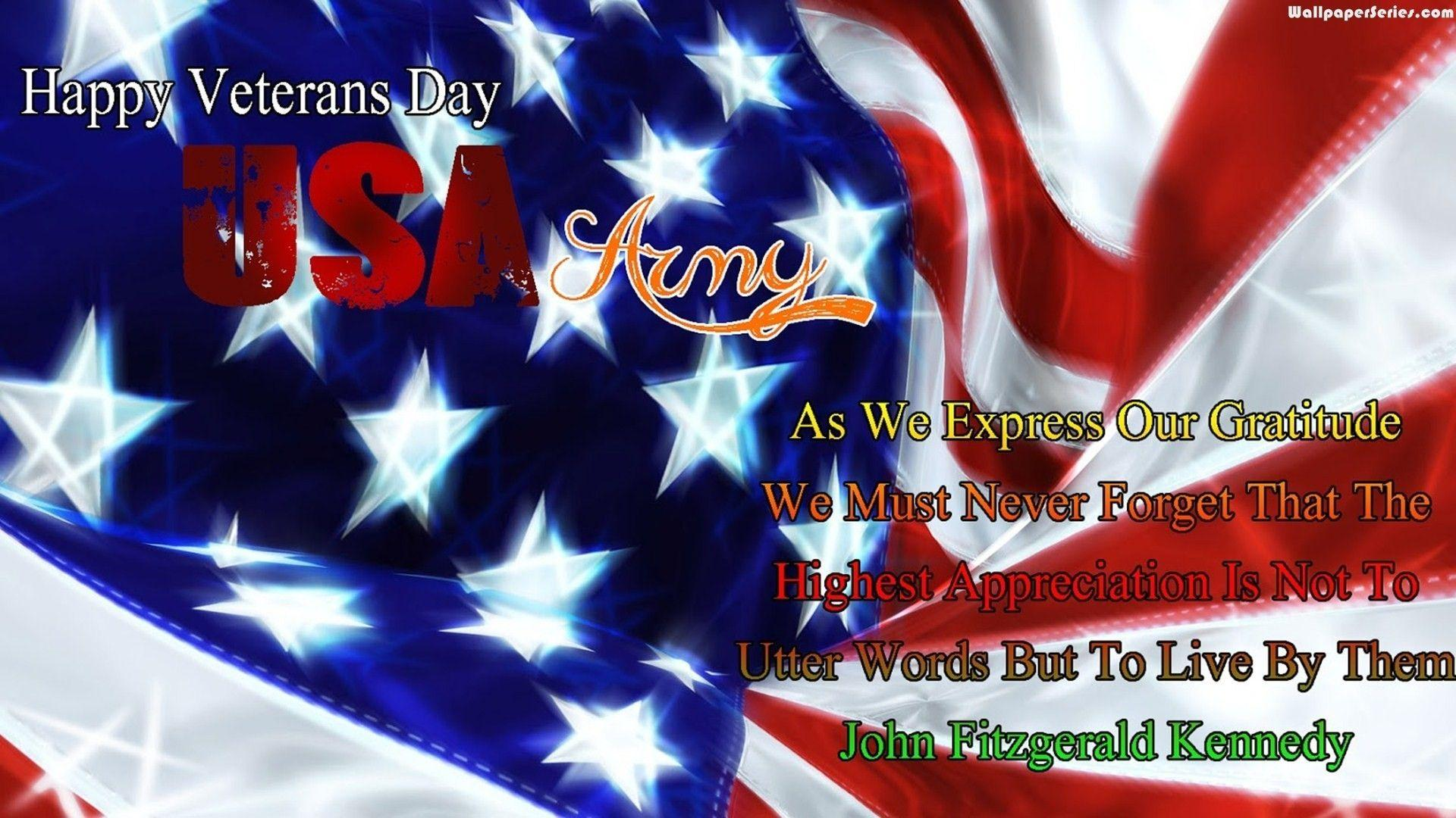 Veterans Day Wallpaper ·①