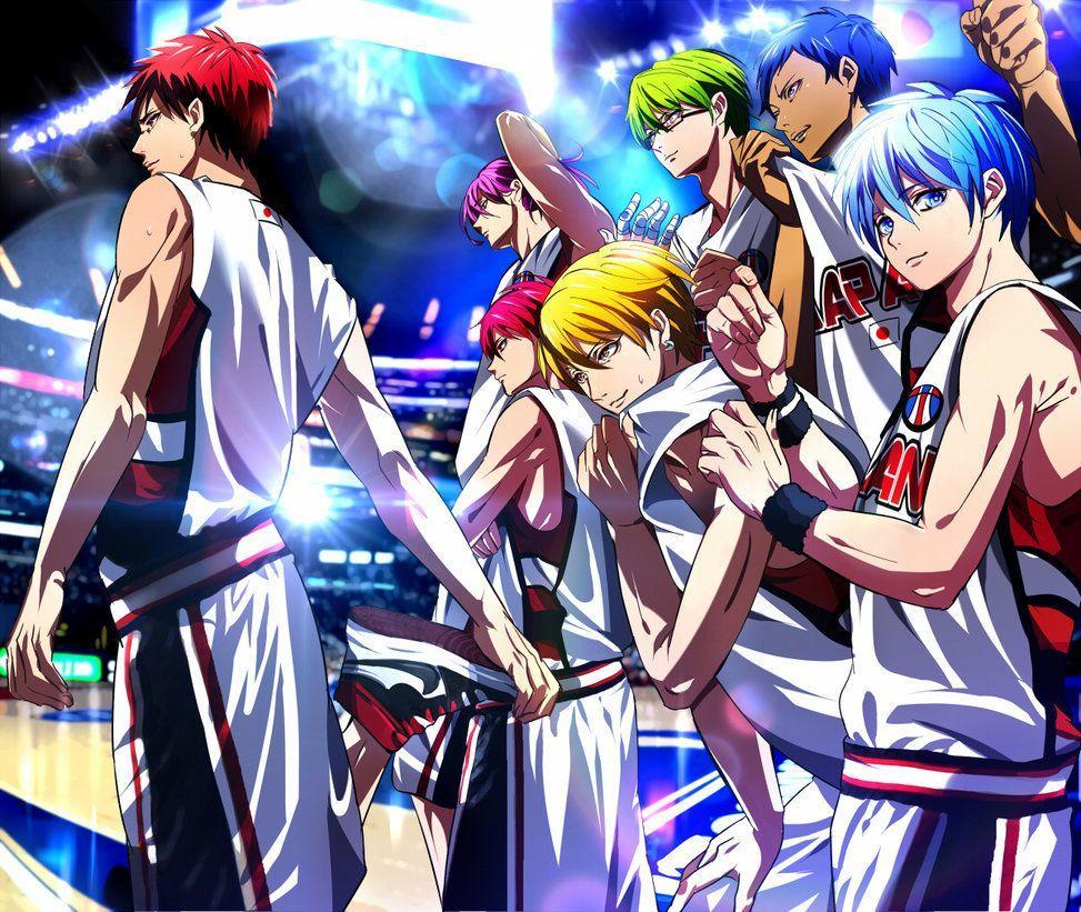 Vorpal Swords From Kuroko No Basket The Last Game Wallpapers