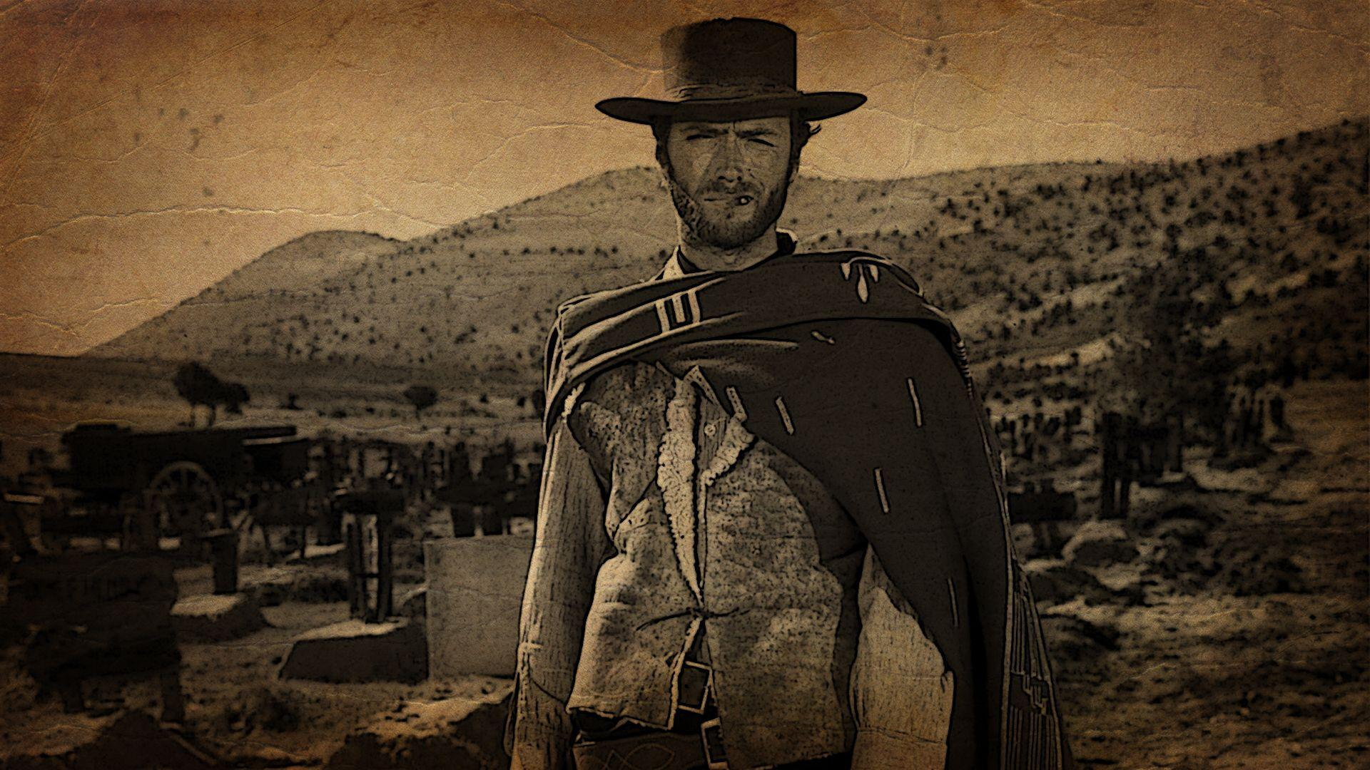 sepia, western, The Good The Bad And The Ugly :: Wallpapers