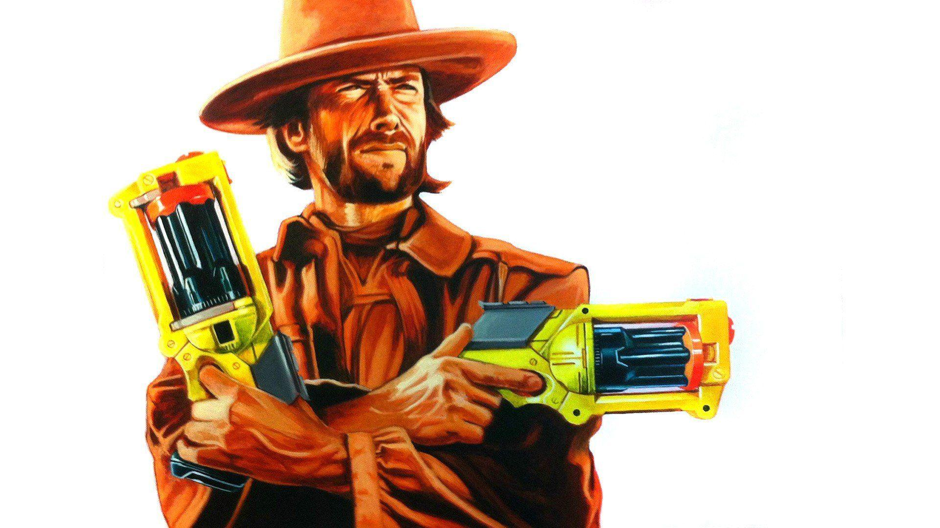 Clint Eastwood Nerf The Good Bad And Ugly